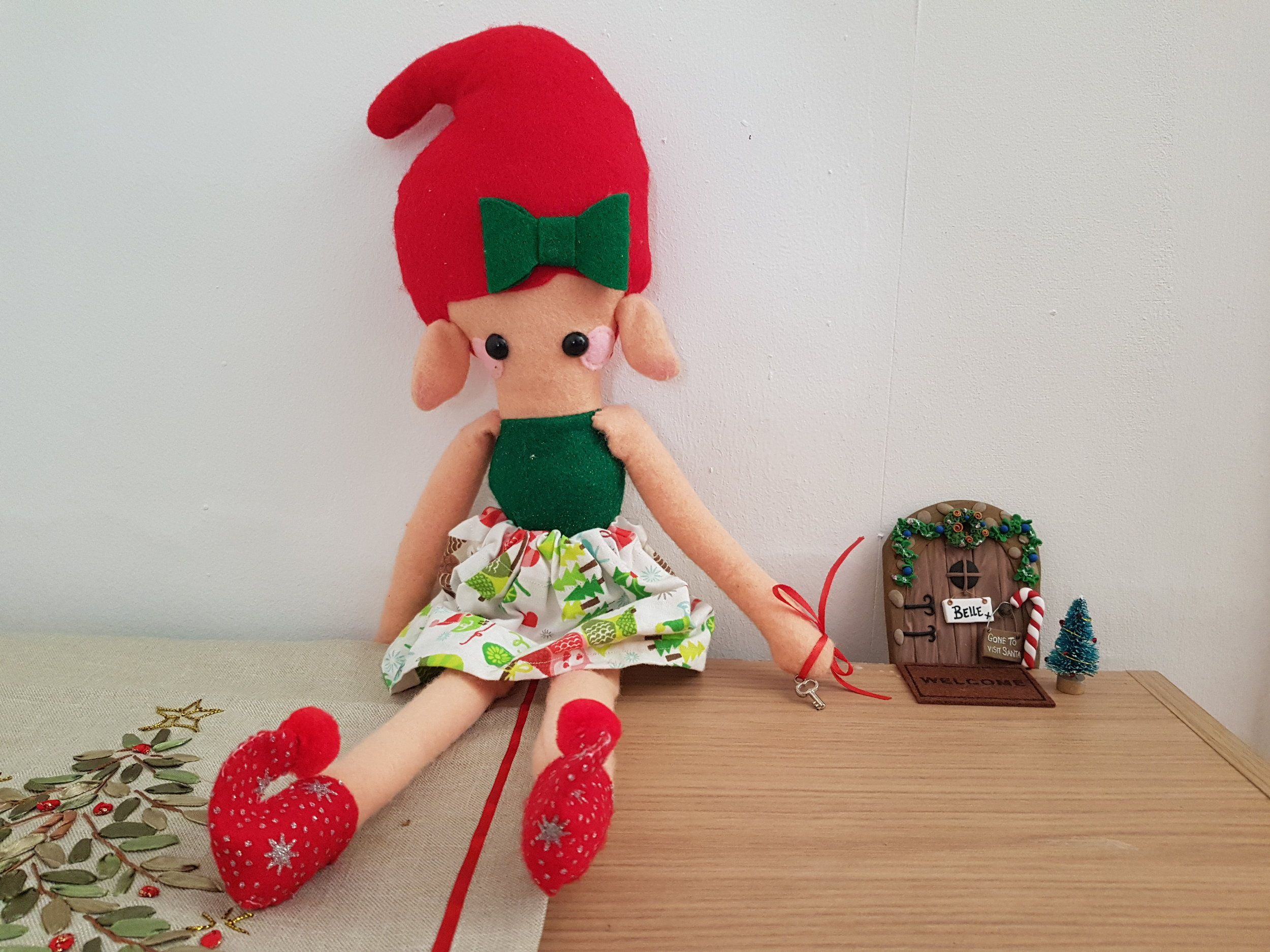 Counting down to Christmas with elf on a shelf