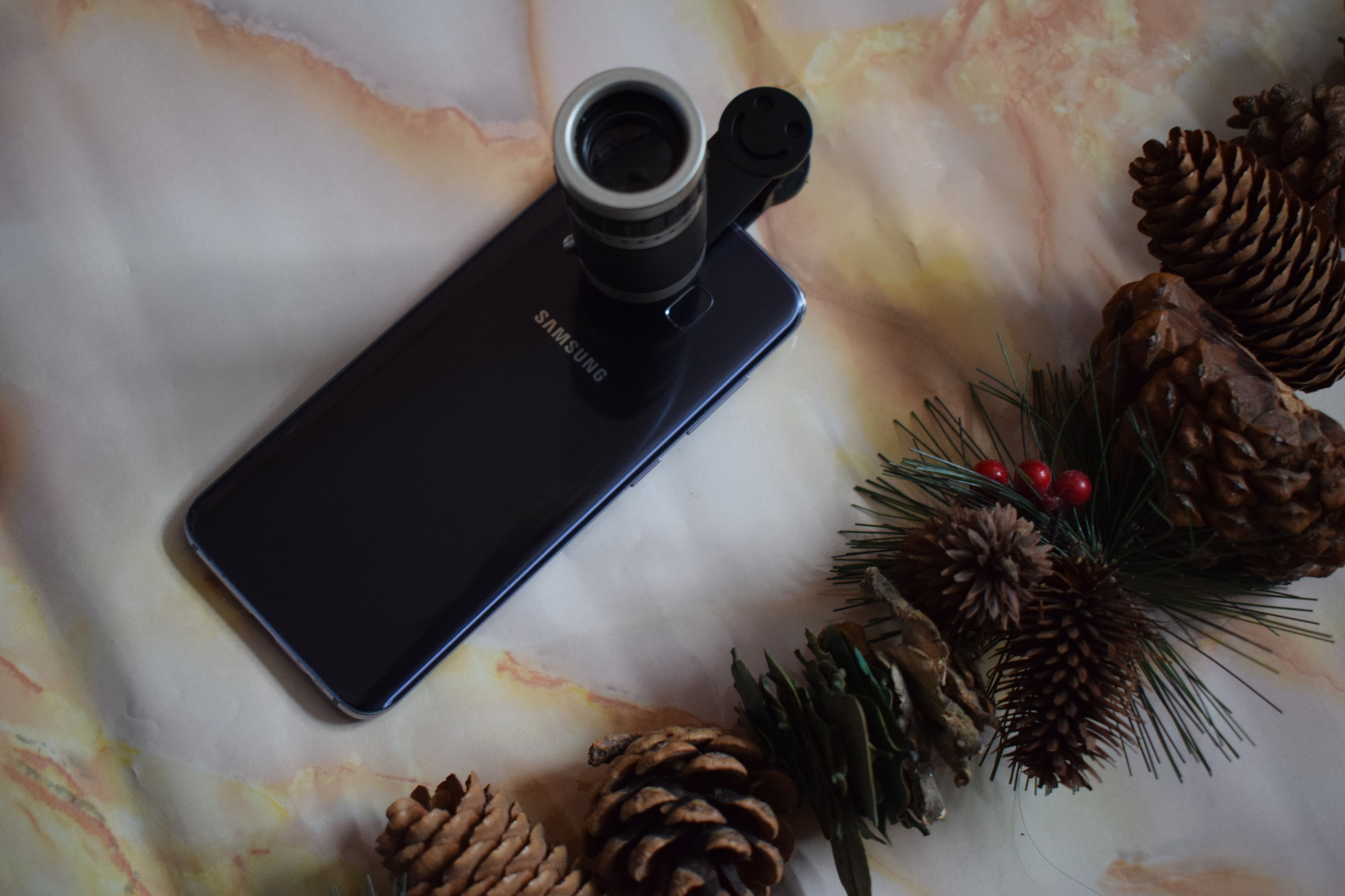 Telescopic lens from Menkind Me Becoming Mum's Stocking Fillers for Him