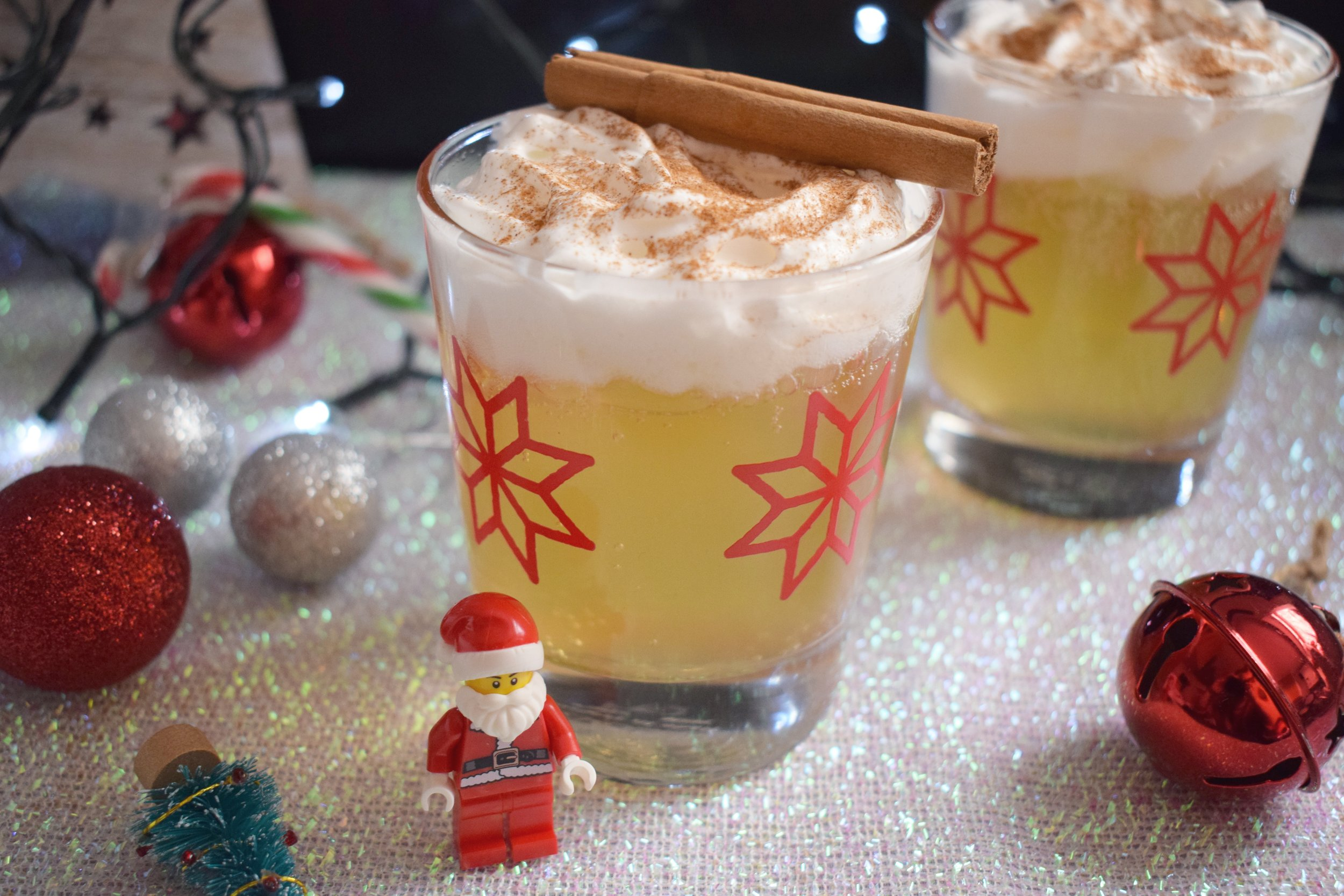 Mulled cider Christmas drink