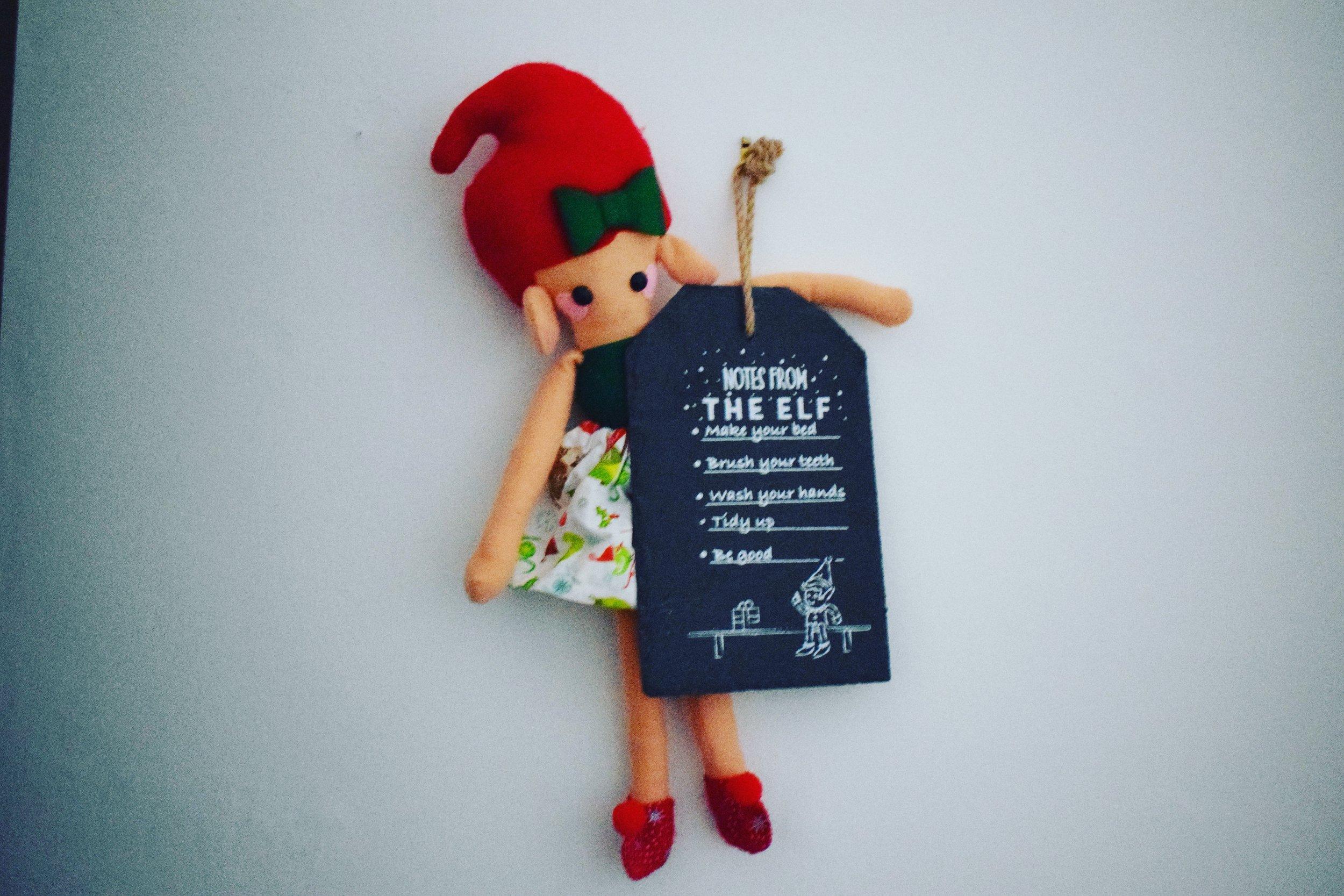 Elf on the Shelf Elf rules