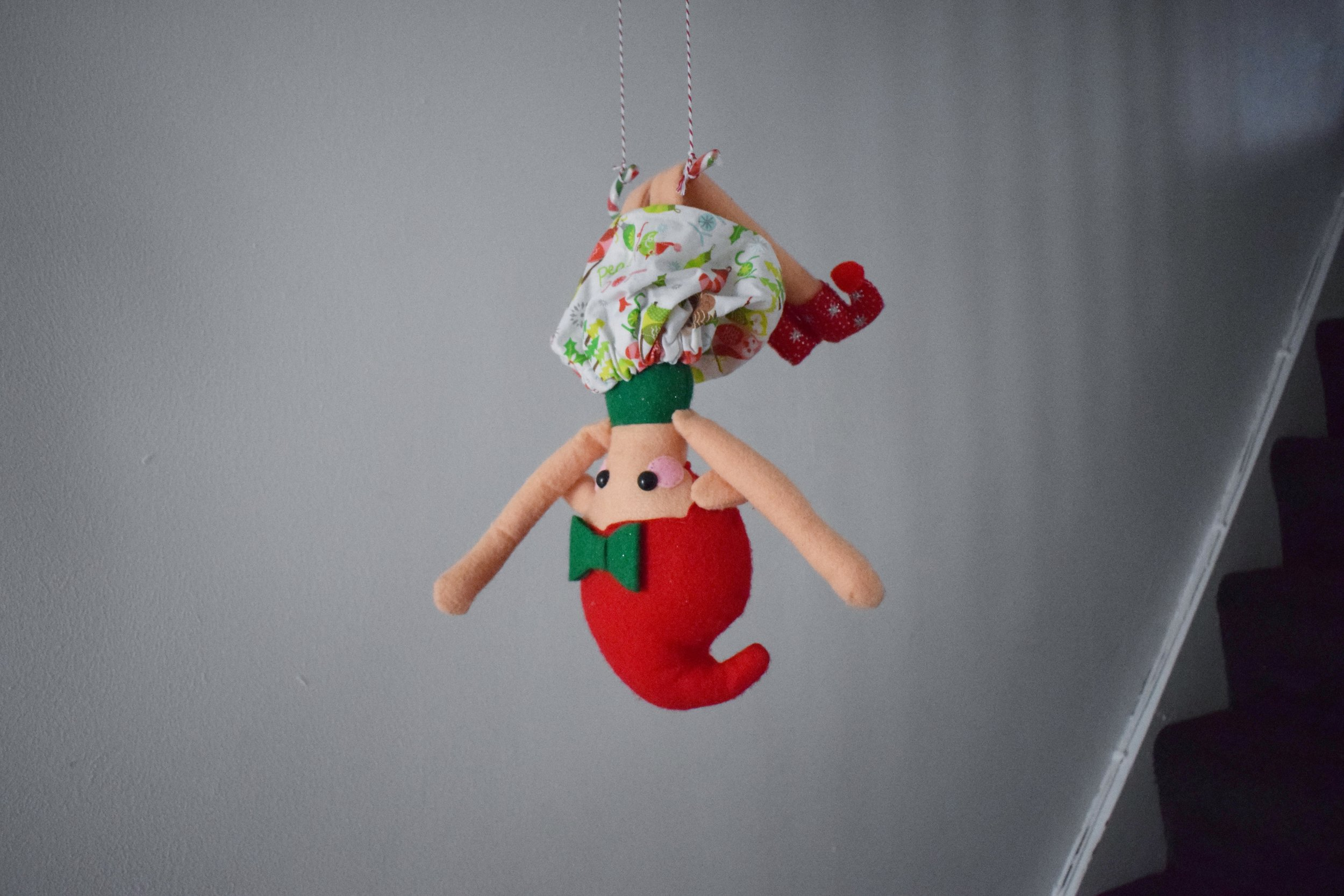 Elf on the Shelf Candy Cane Circus