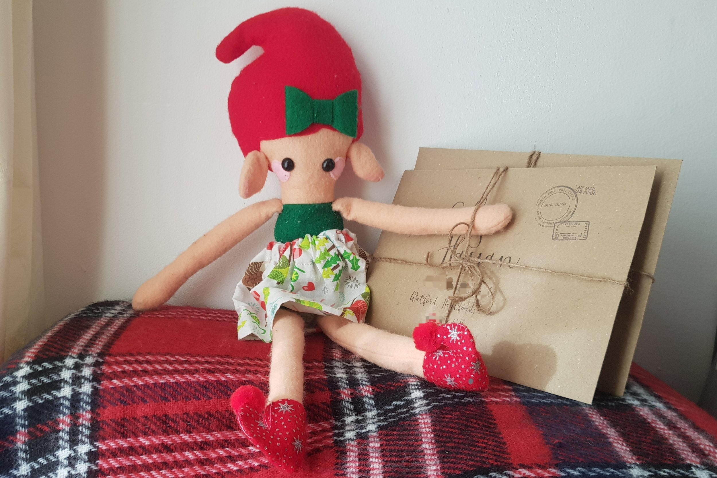 Elf on the Shelf letters from Santa