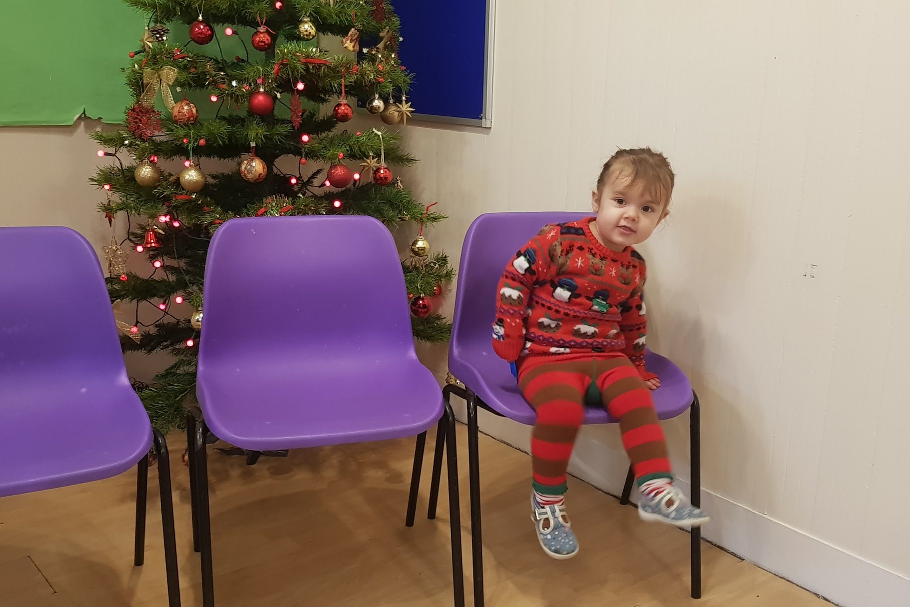 Christmas party at play group