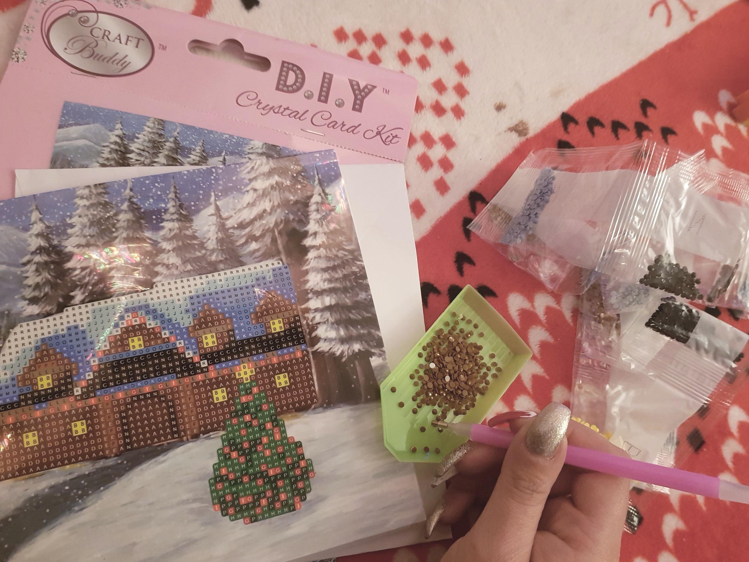 Craft Buddy DIY Crystal Card Kit