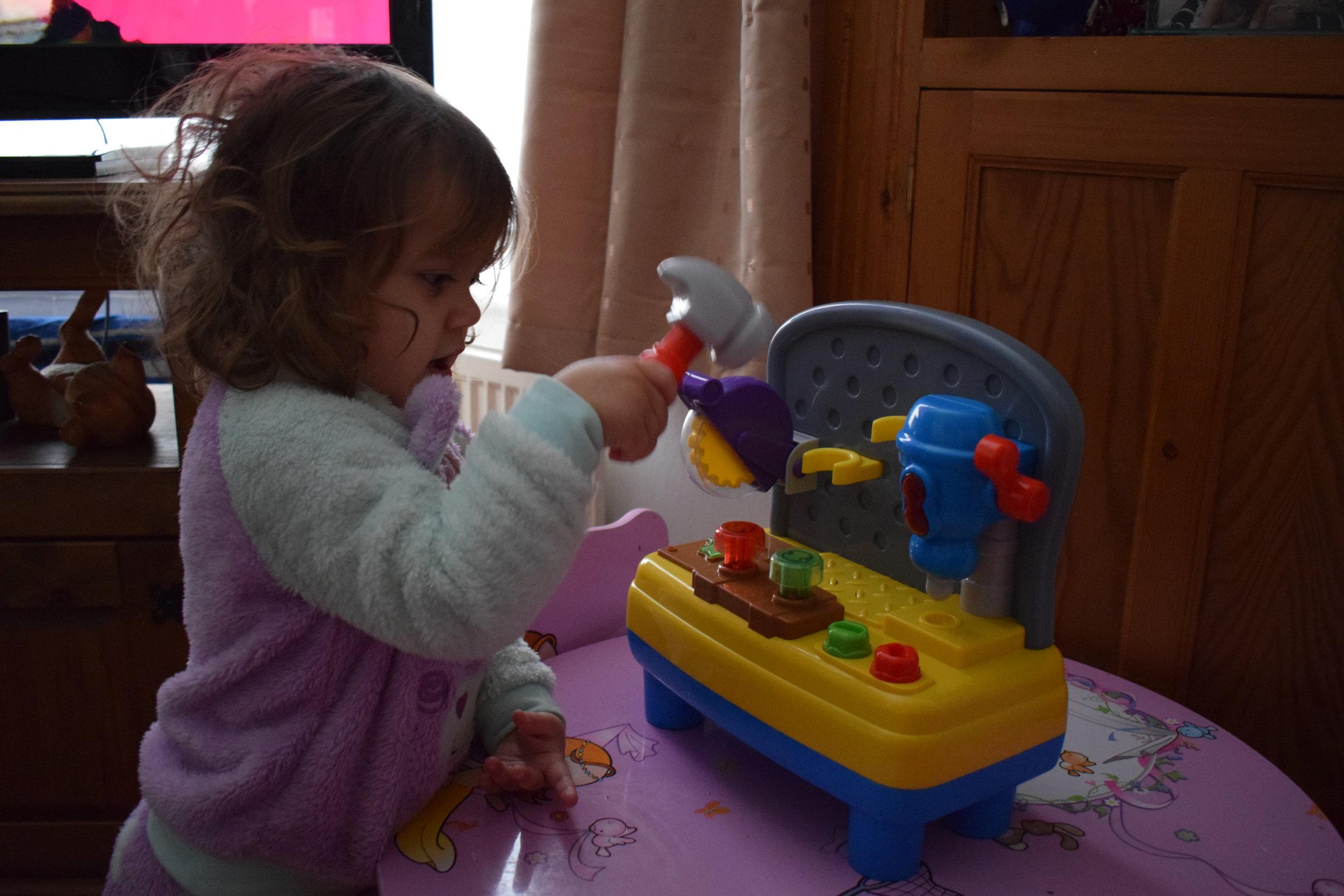 Big Steps Junior Workshop from Smyths Toys