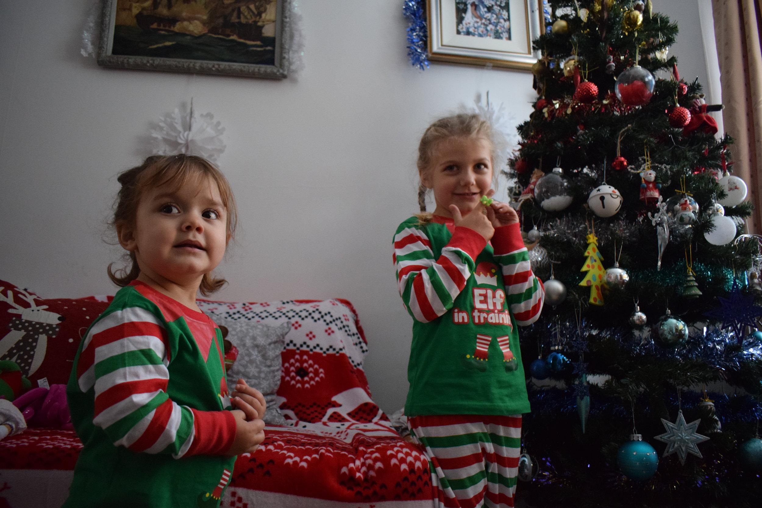 Elf in Training pyjamas The Pyjama Factory