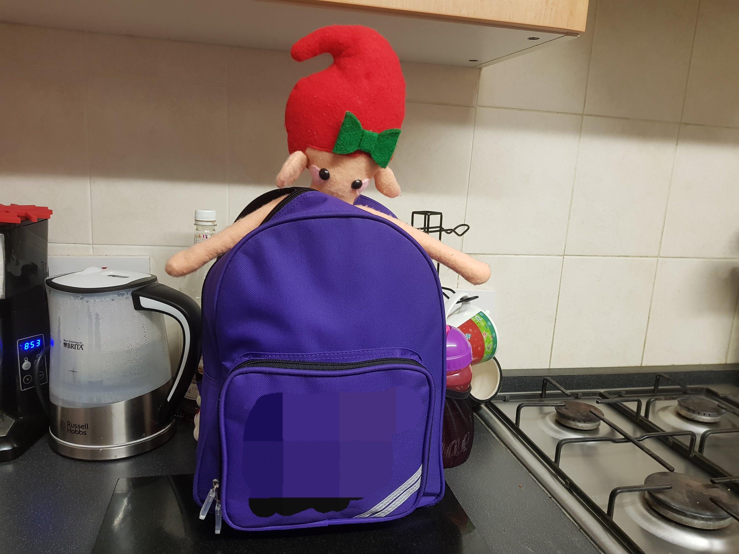 Elf on the Shelf school Chritmas party