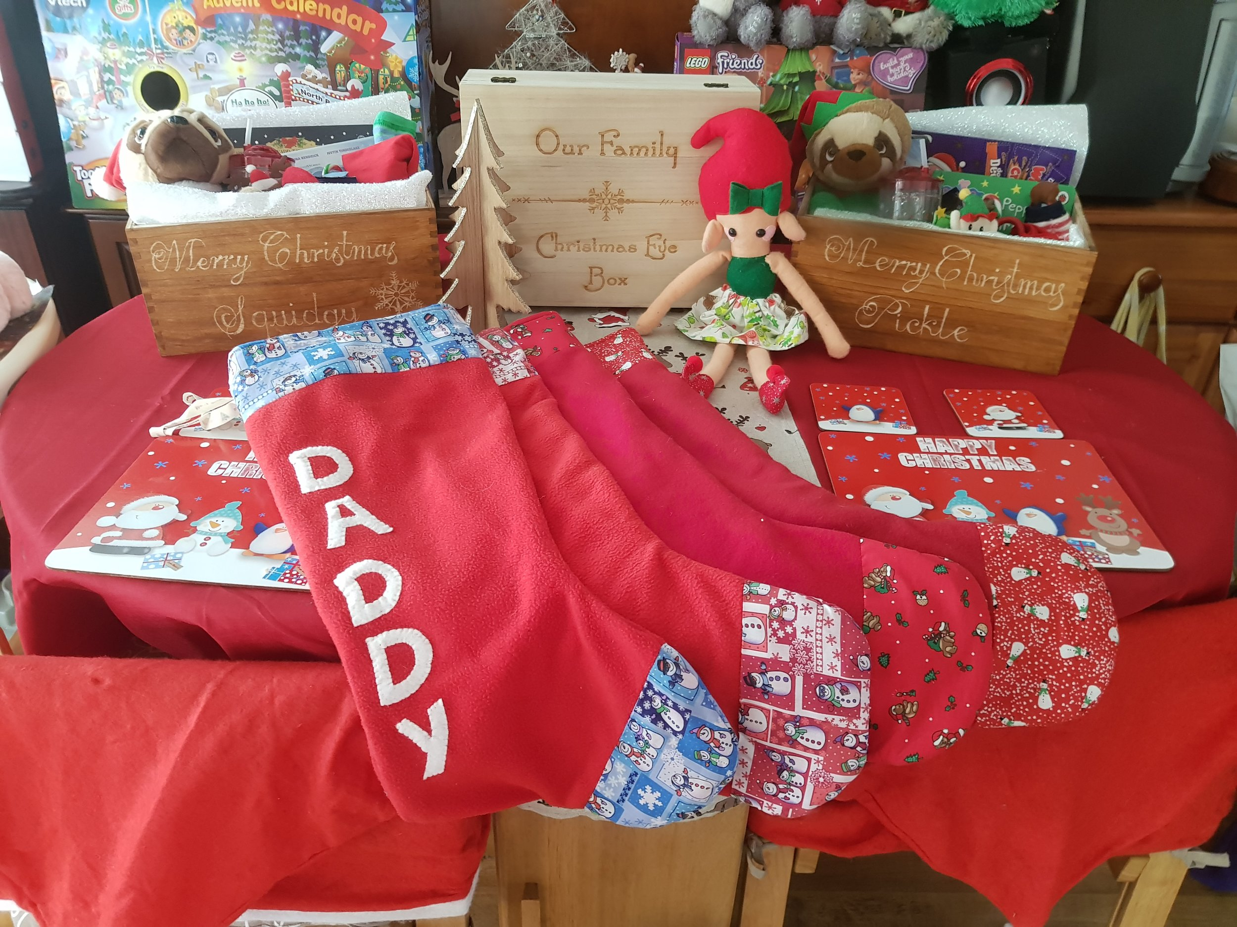 Elf on the Shelf Christmas Eve Box