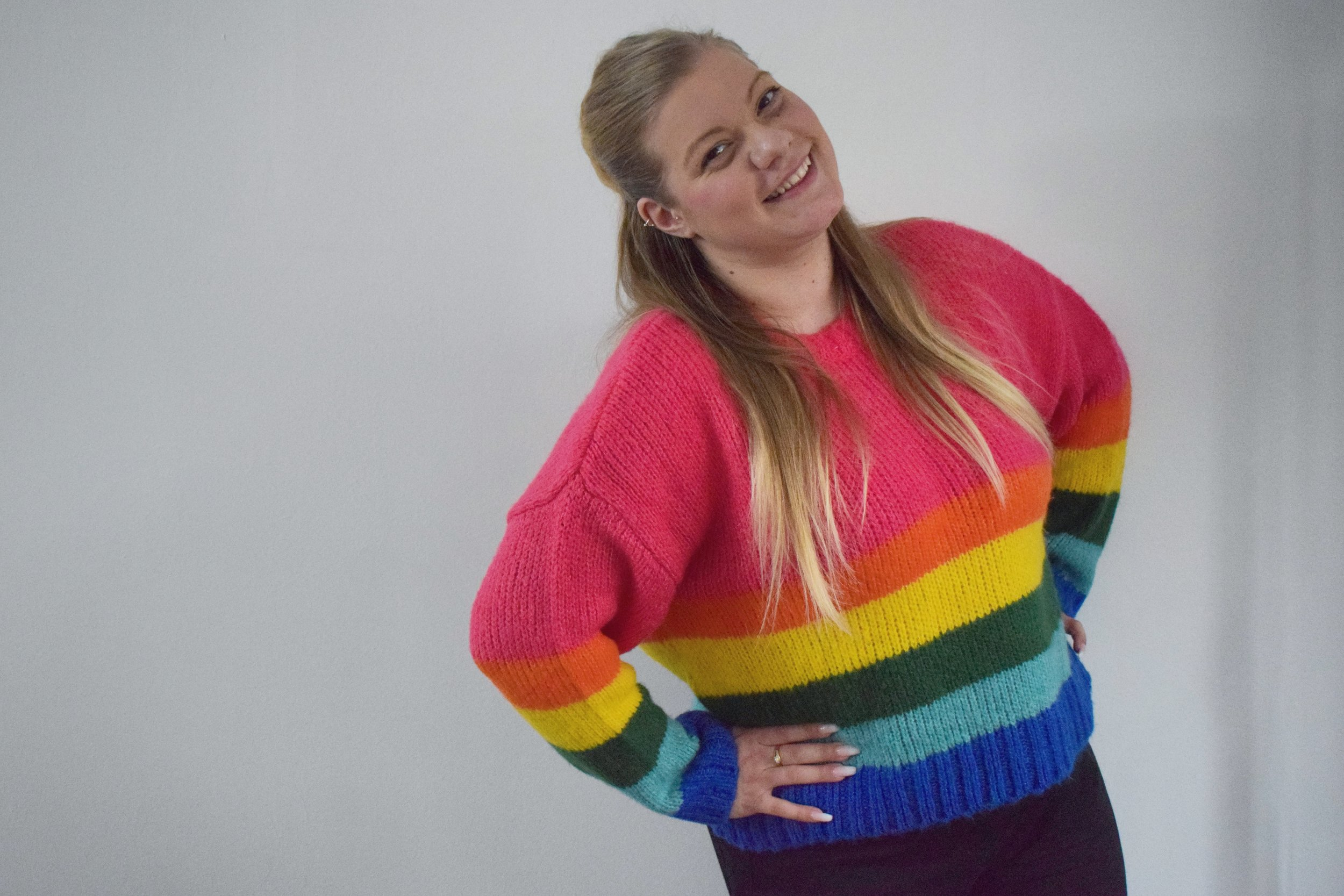 2019 Valentine's Day gifts rainbow jumper from Primark