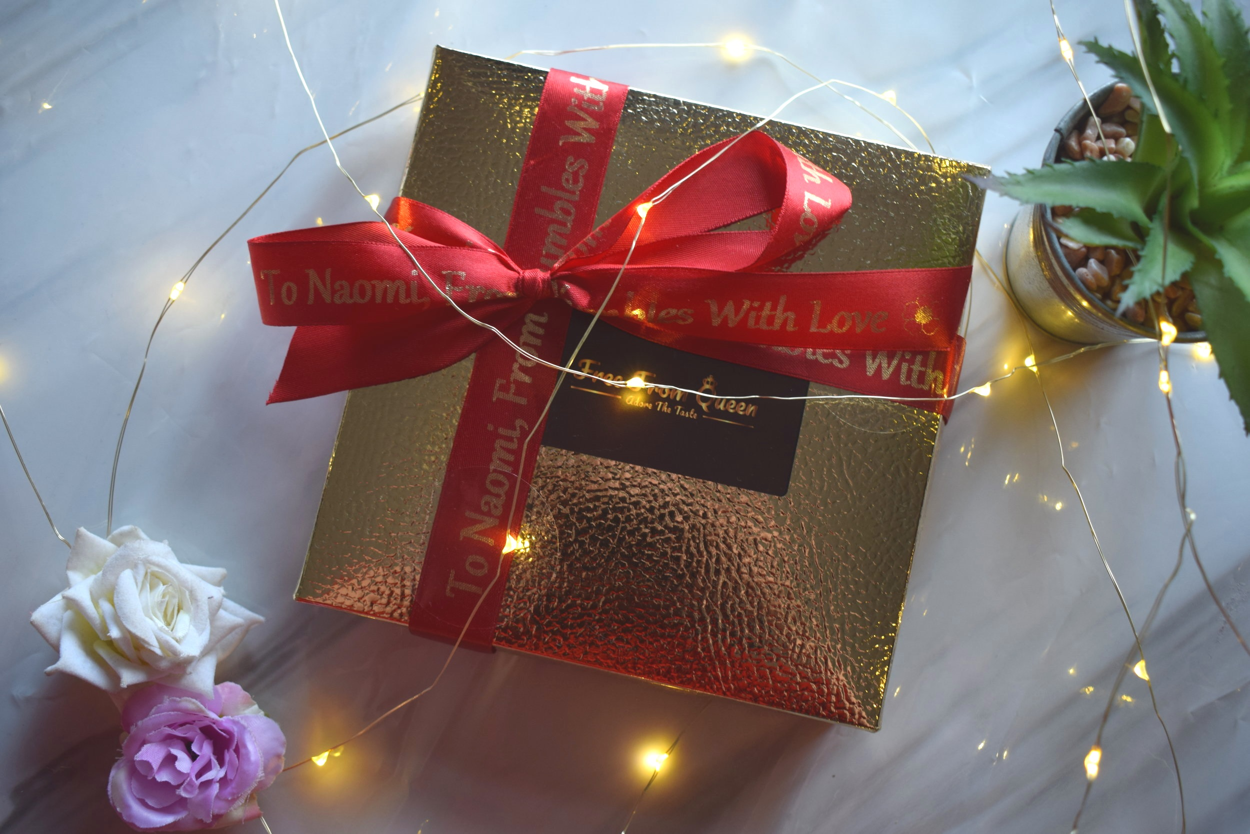 2019 Valentine's Day gifts Yumbles Vegan Free-From Gluten Soya Chocolates
