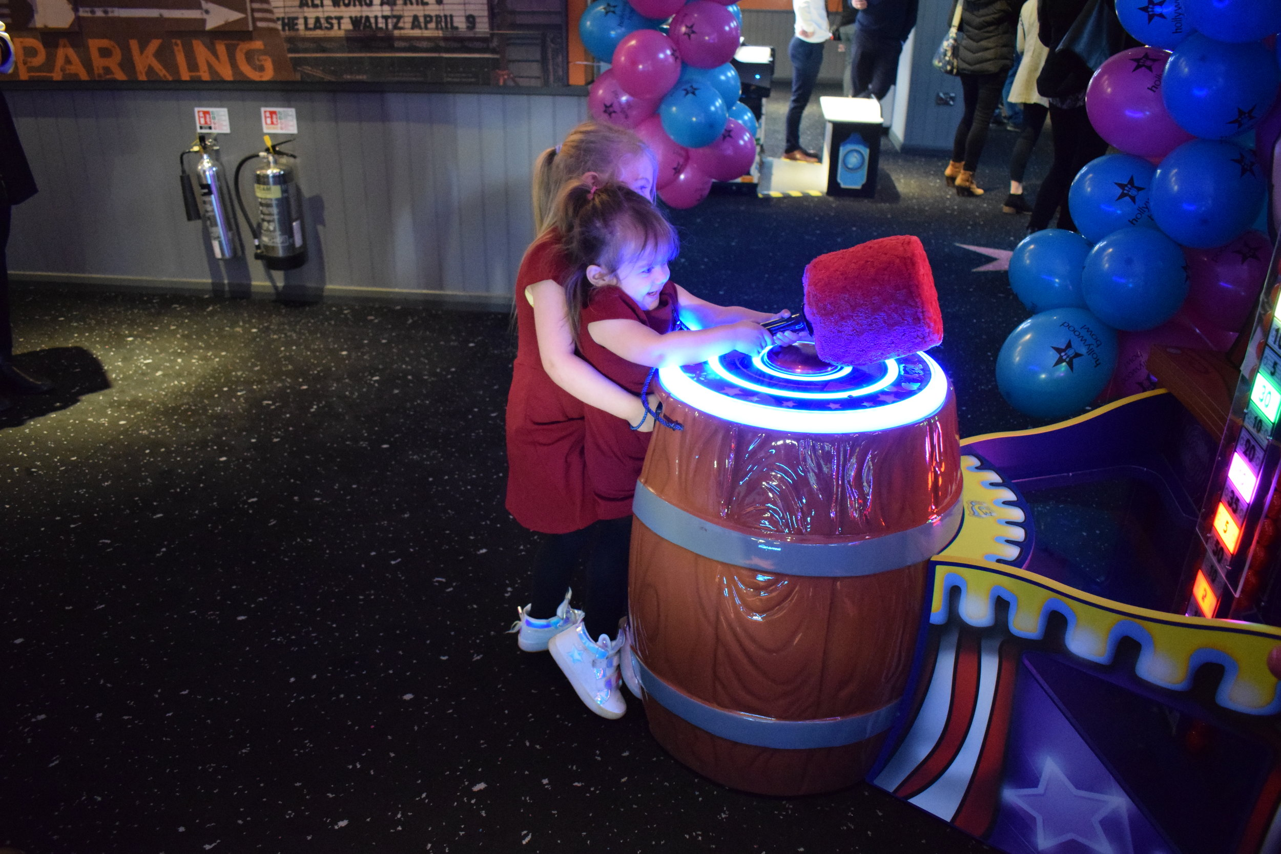 Arcade games at Hollywood Bowl, Intu Watford