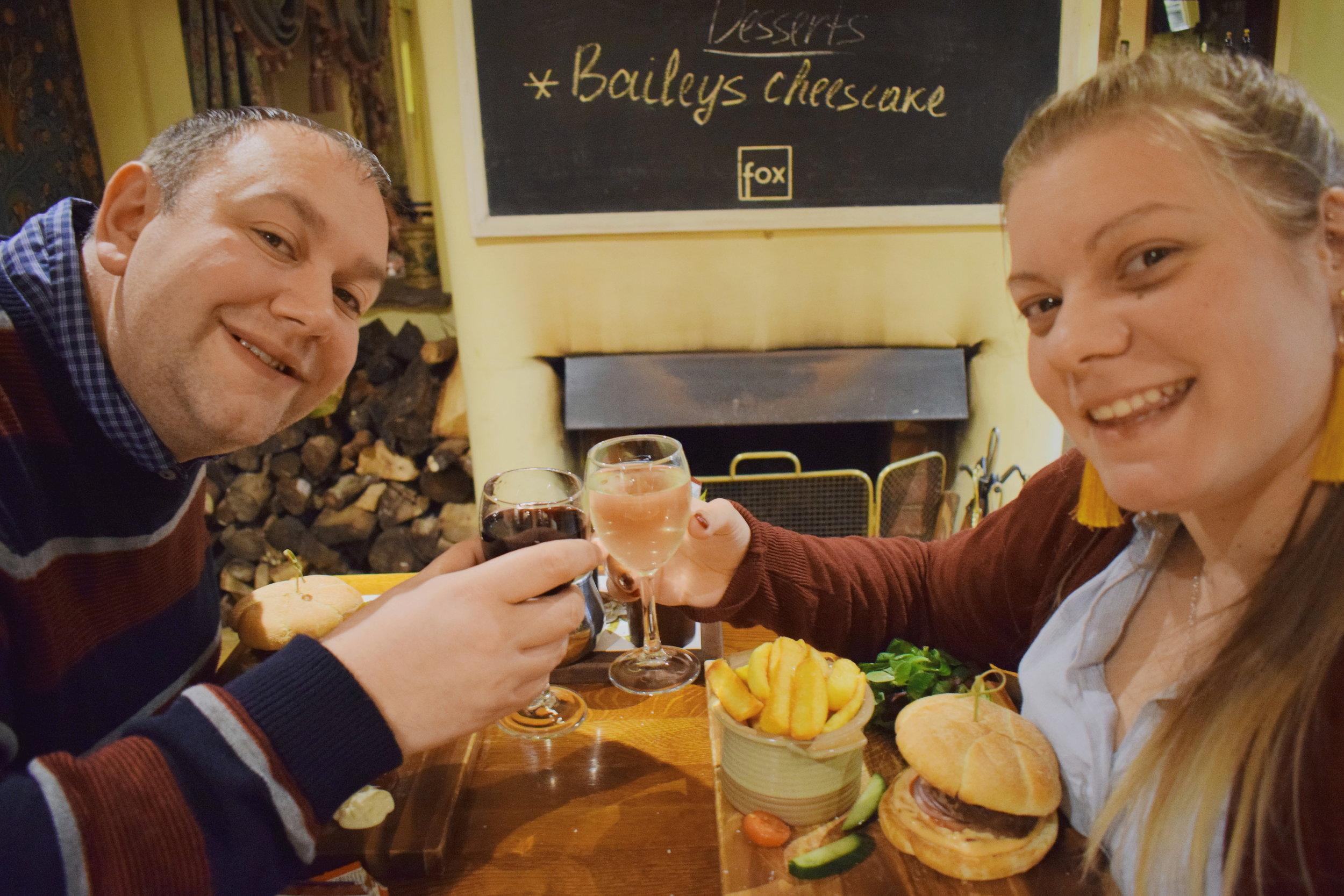 Red Letter Days UK voucher: Dinner for two