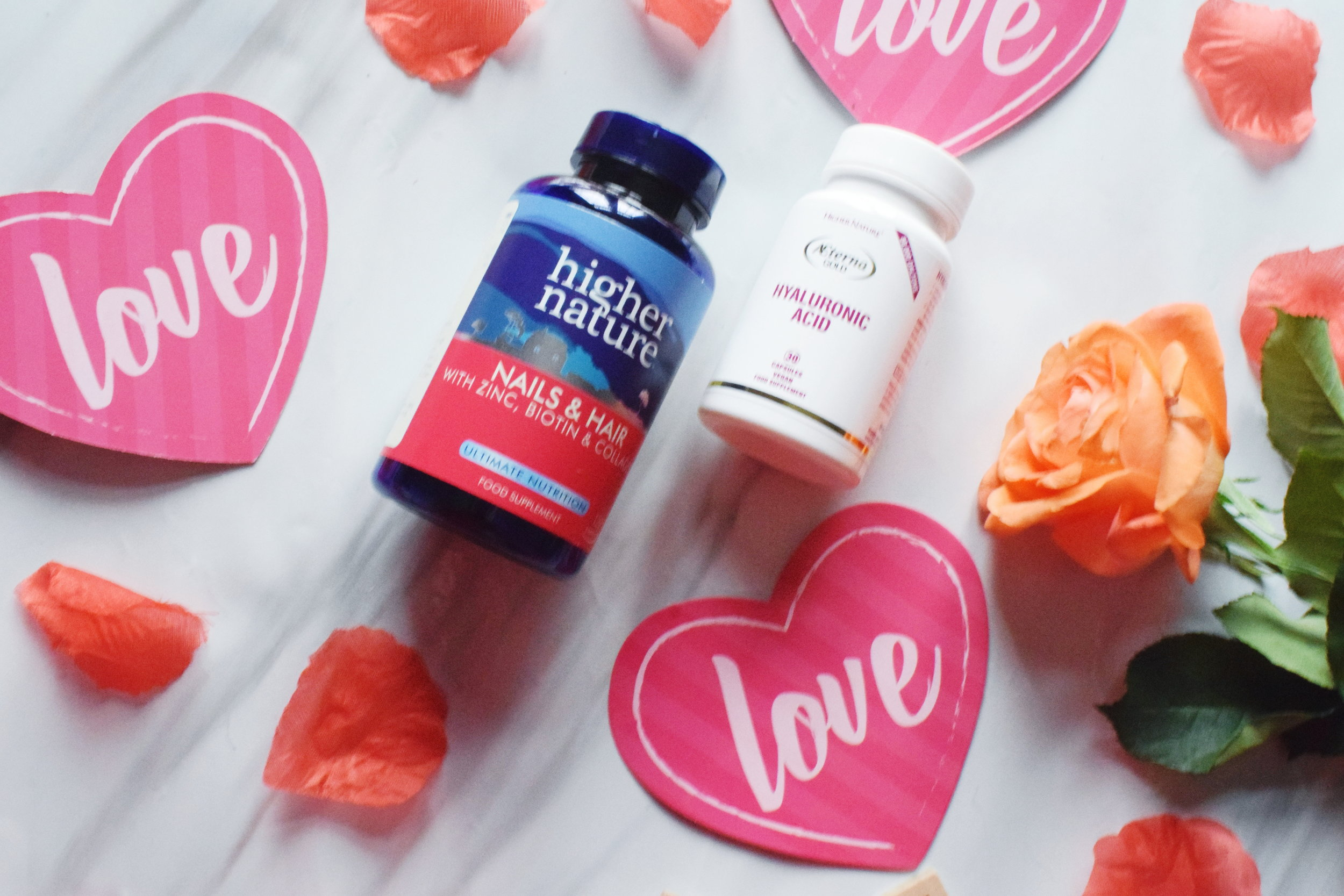 Higher Nature health supplements Mother's Day gifts 2019