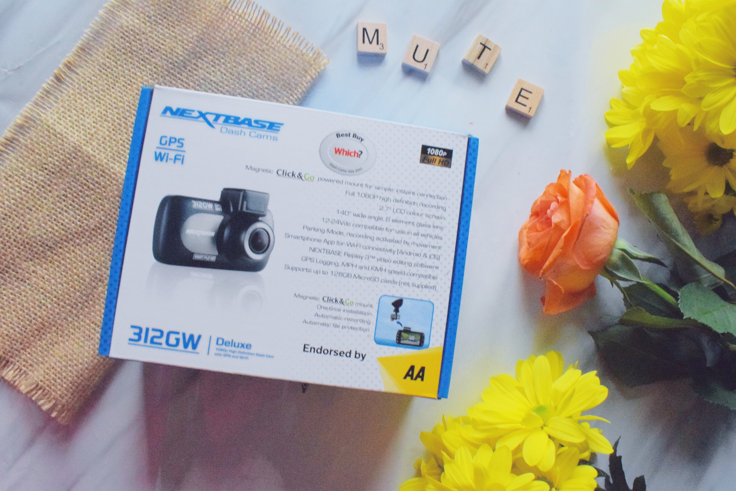 Next Base dash cam Mother's Day gifts 2019