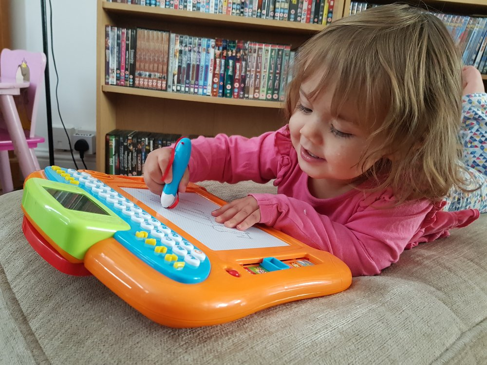 Smyths Toys Superstores Baby Room catalogue Big Steps play write 'n' learn drawing board