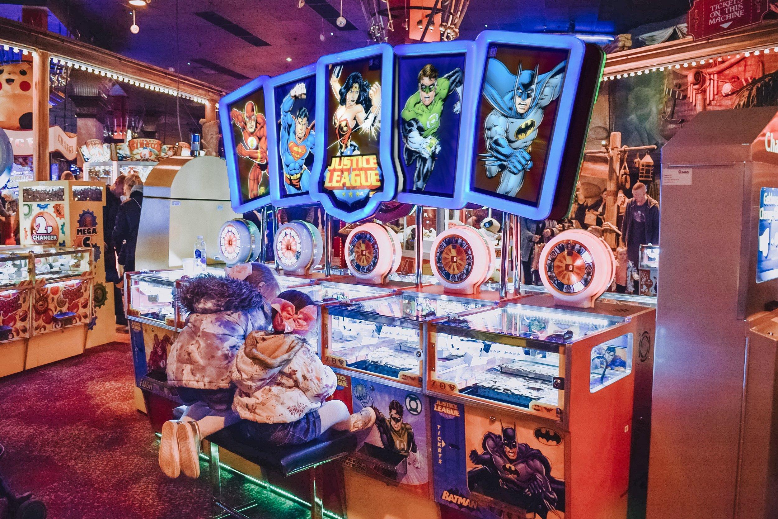 Coral Island, Blackpool 2p machines