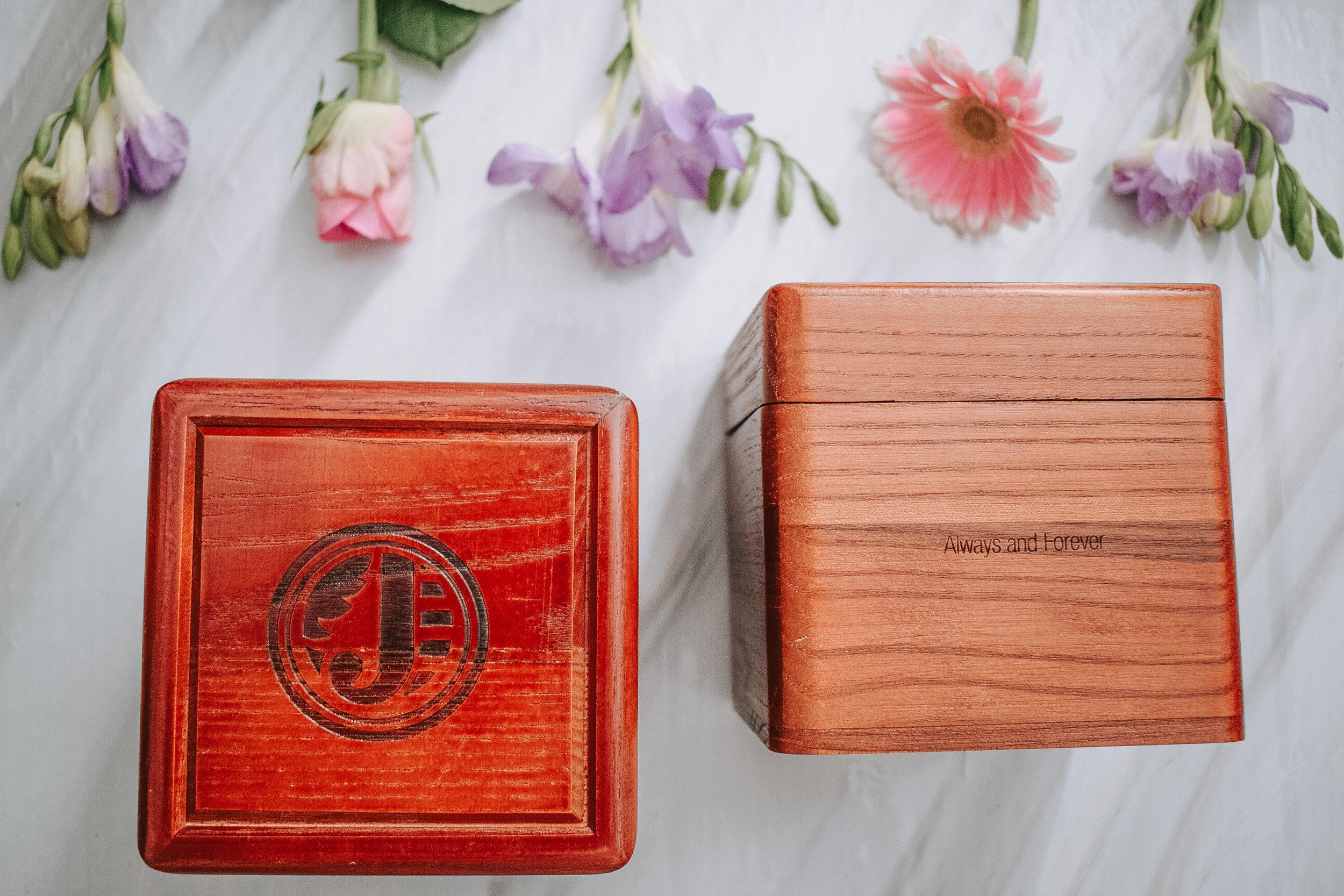 Jord wood watch box