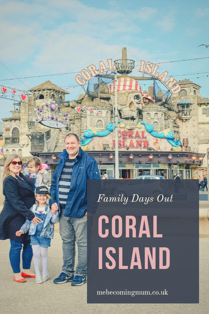 Coral Island, Blackpool Review Days Out for Kids UK