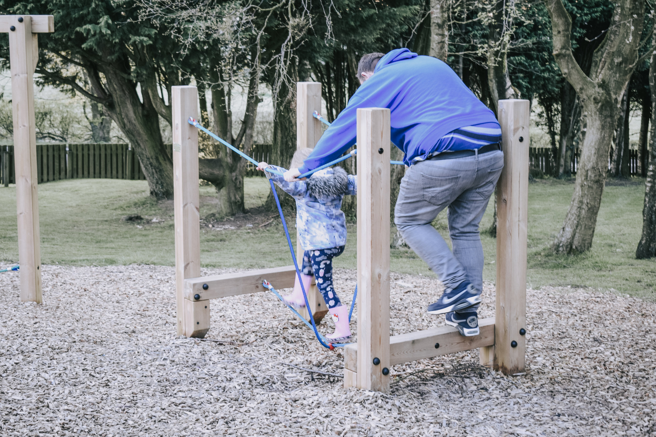 Parkdean Todber Valley Holiday Park Assault Course