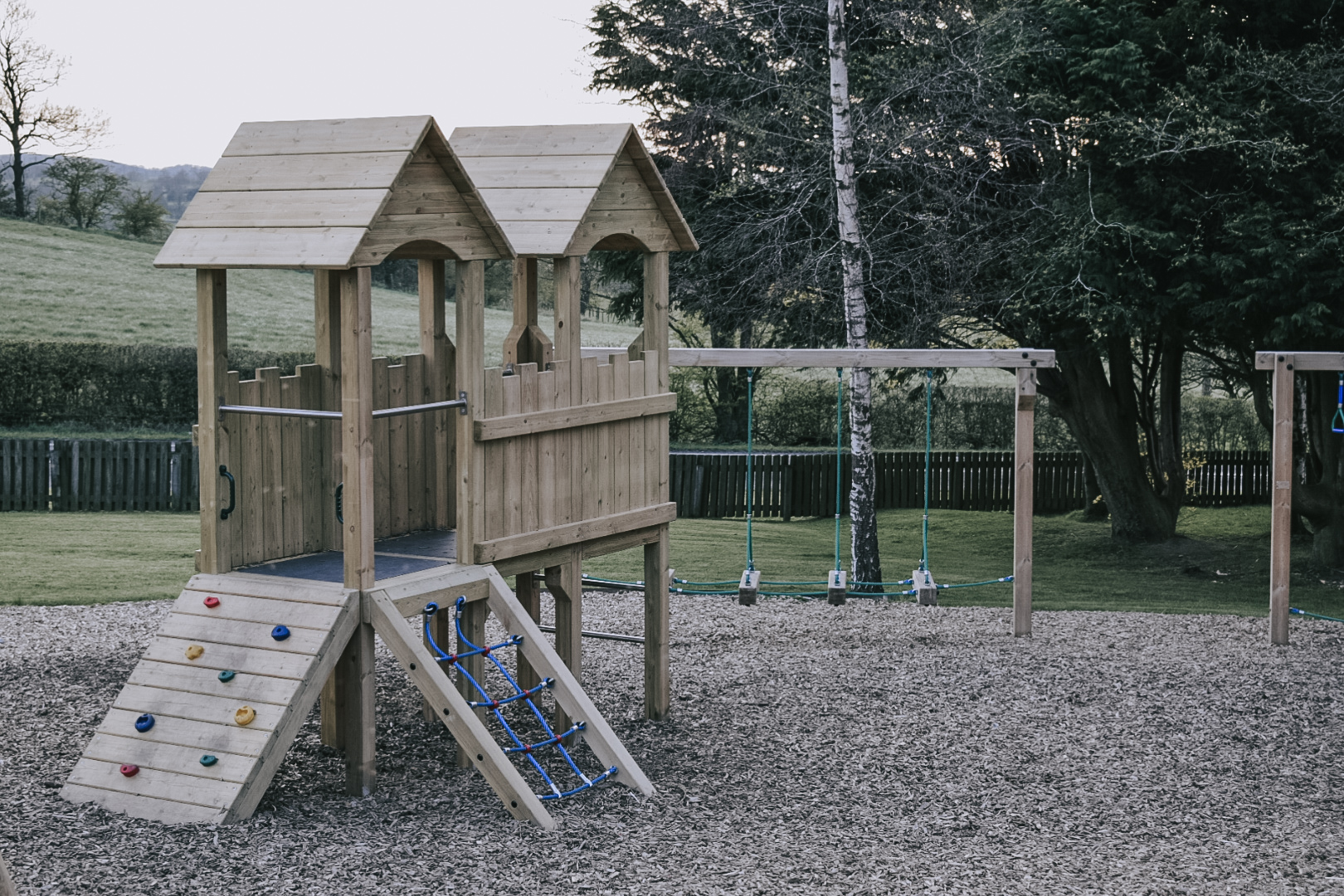 Parkdean Todber Valley Holiday Park toddler climbing frame