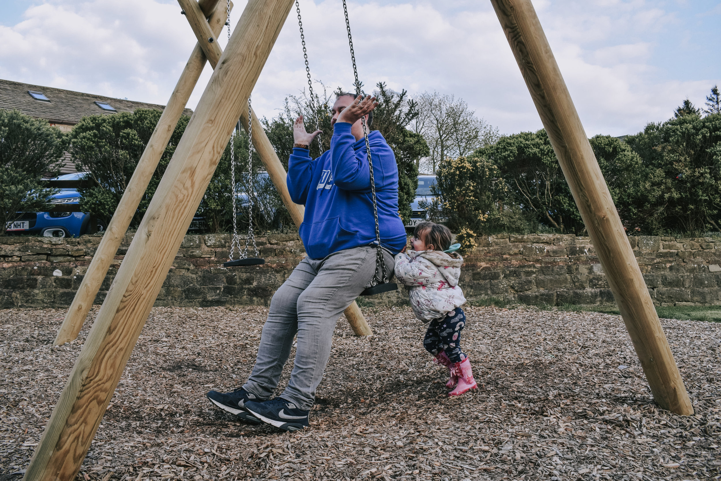 Parkdean Todber Valley Holiday Park toddler swings (1).jpeg