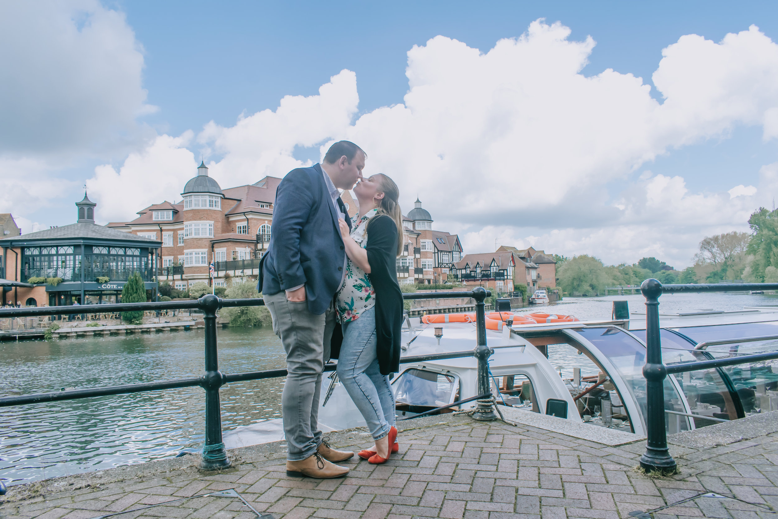 Bateaux Windsor lunch river cruise on the Thames