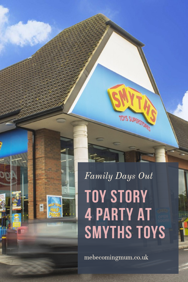 Toy Story 4 party at Smyths Toys Superstores