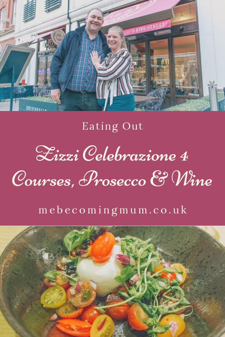 Zizzi Celebrazione 4 Courses, Prosecco & Wine
