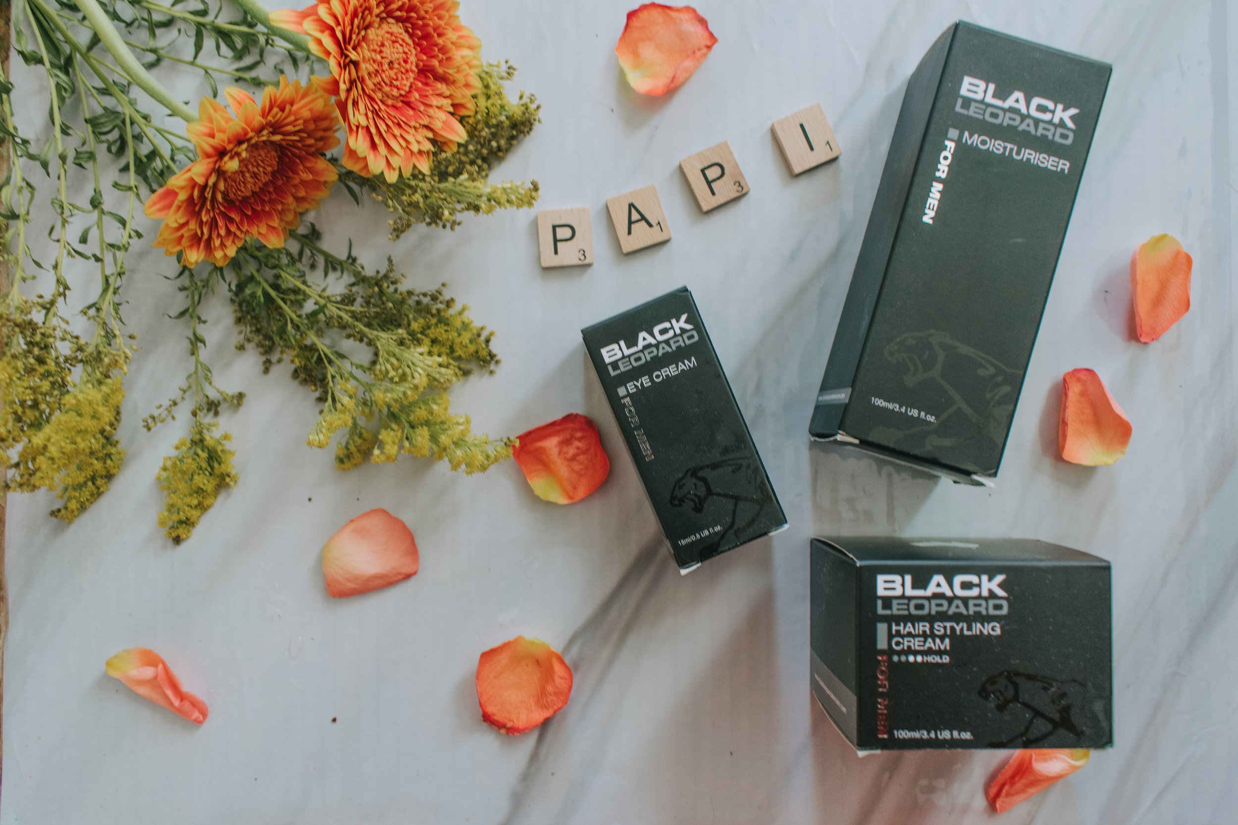 Black Leopard men's hair and skin care Father's Day gifts 2019