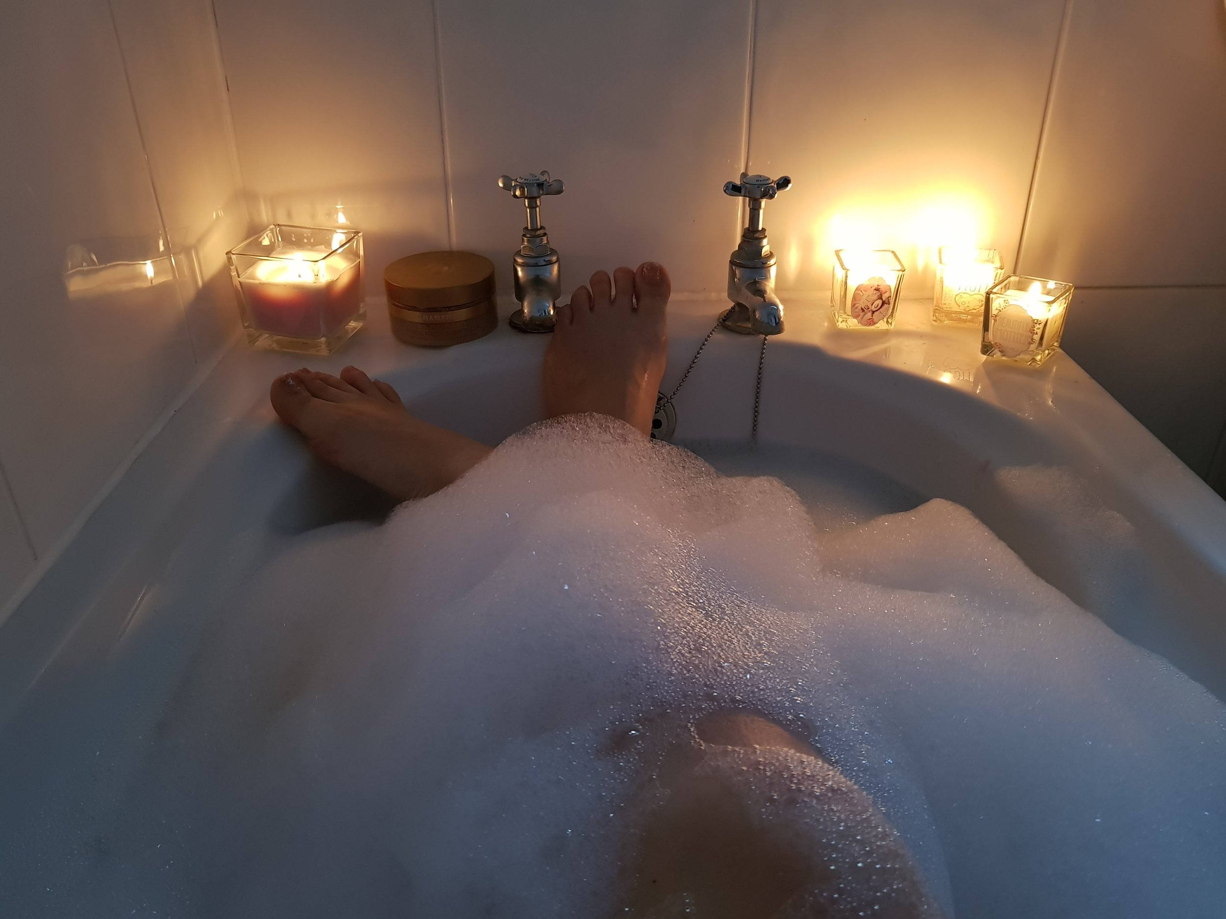 Have a bath, relax and unwind