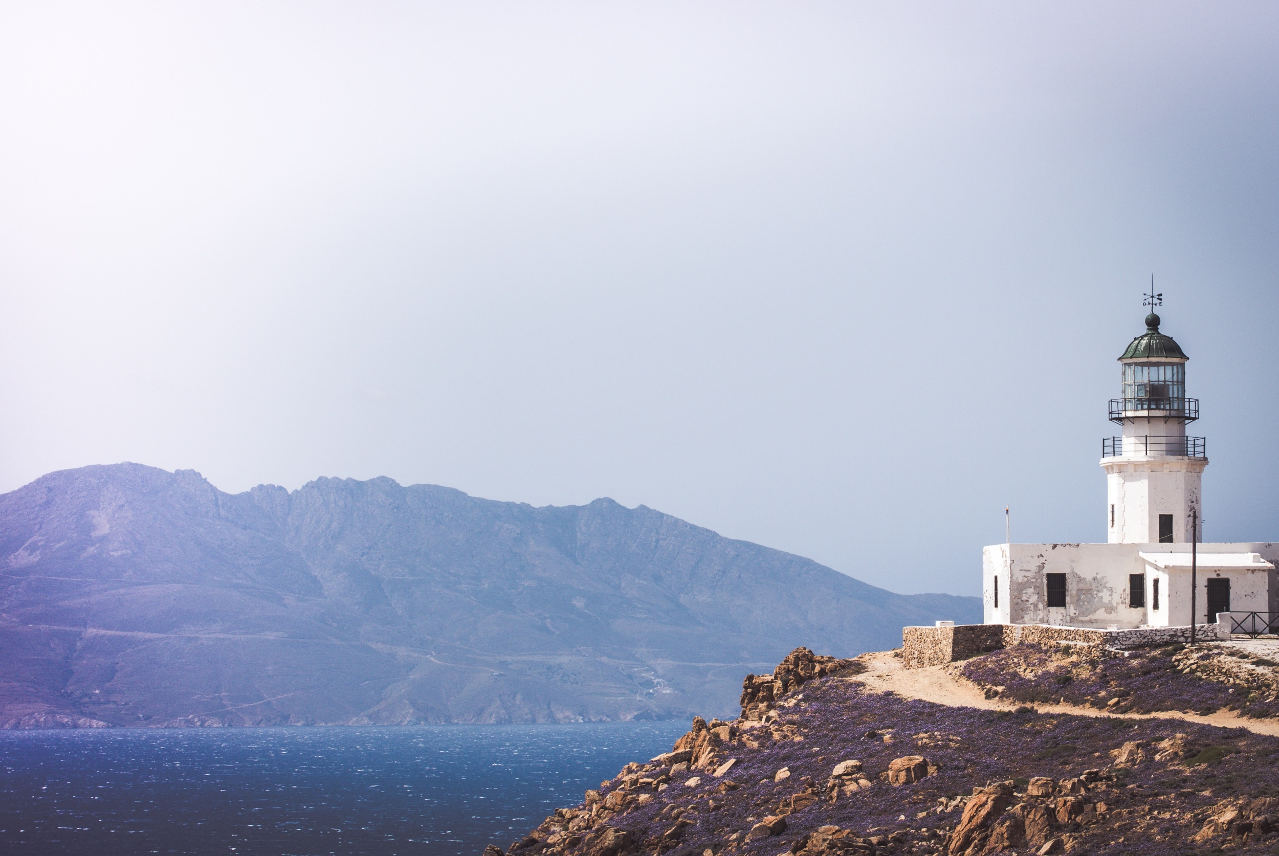 Mykonos hillside