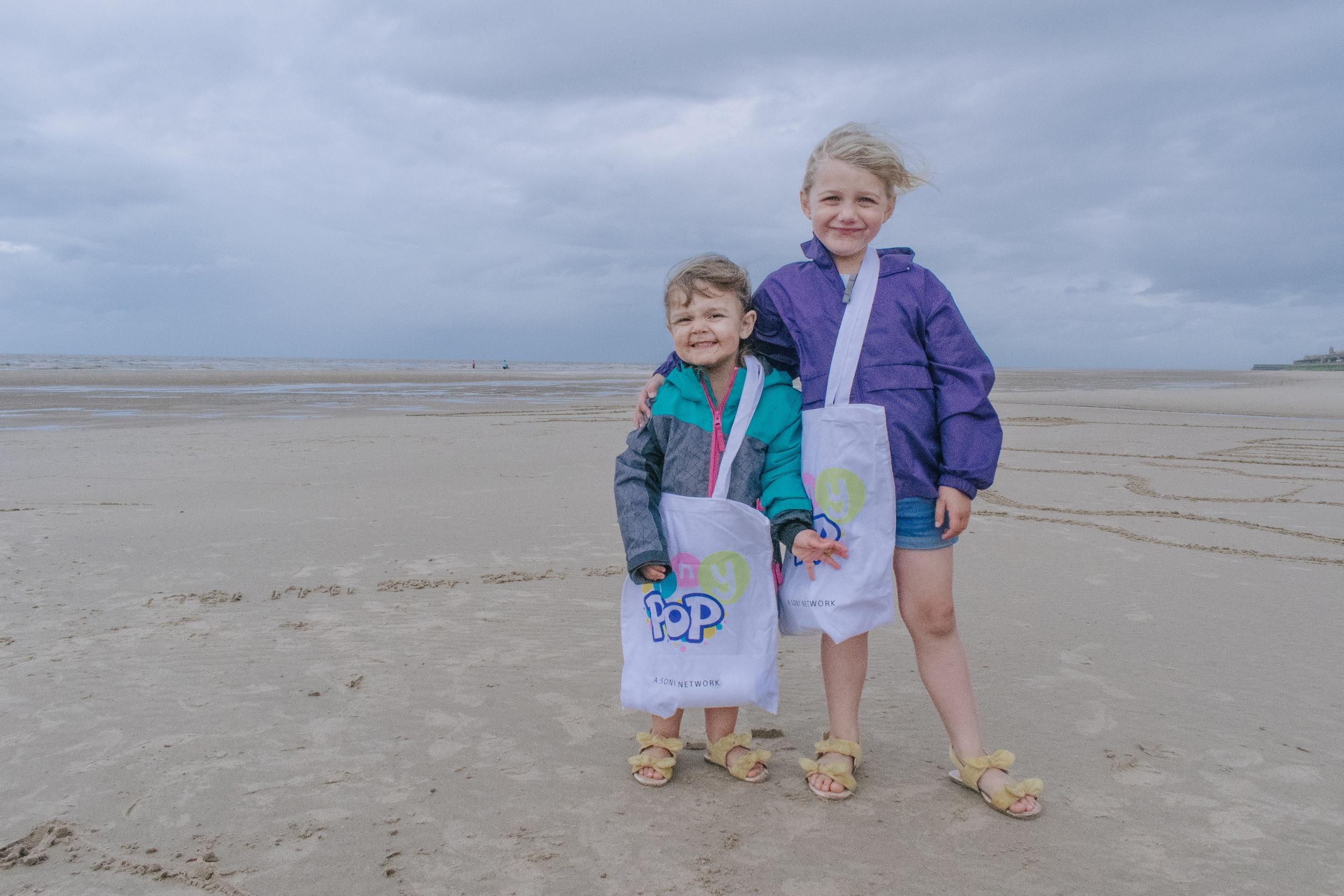 Blackpool Beach Tiny Pop Summer Snaps
