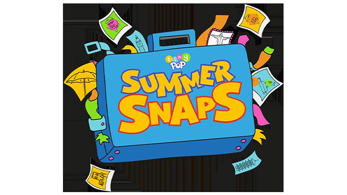 Tiny Pop Summer Snaps logo