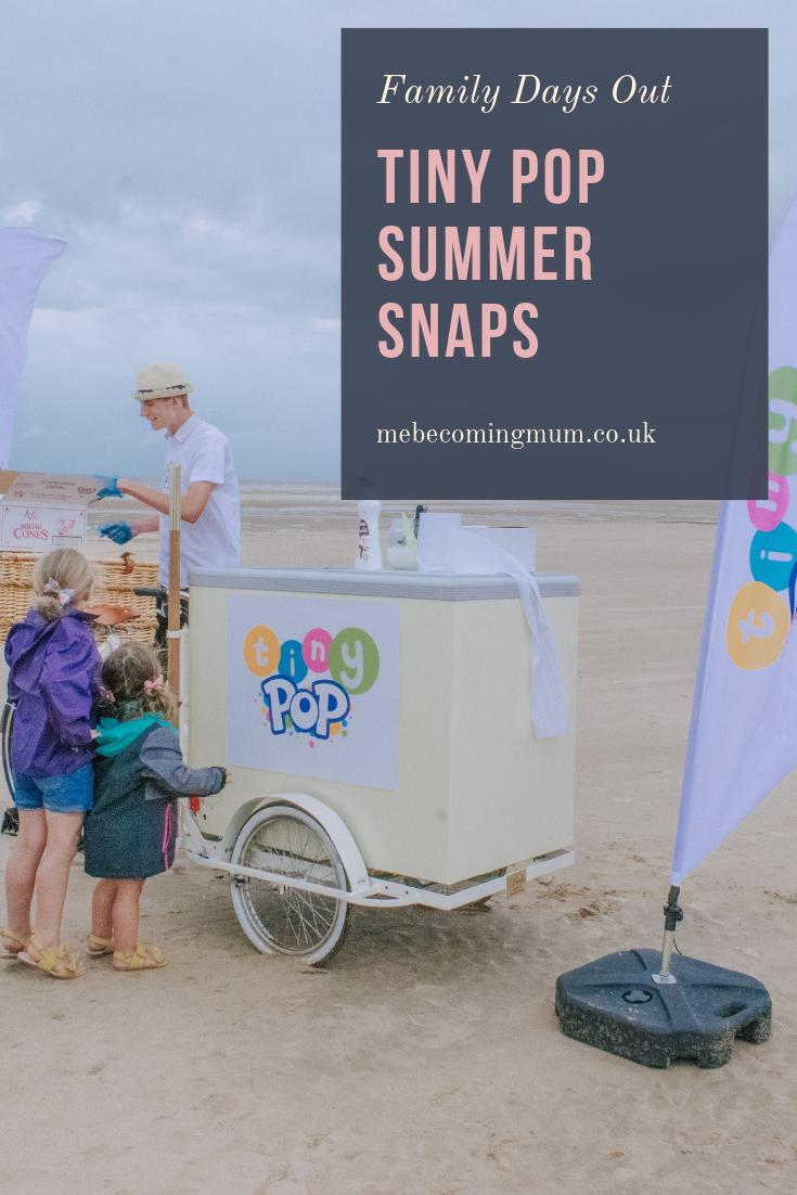 Tiny Pop Summer Snaps at Blackpool Beach