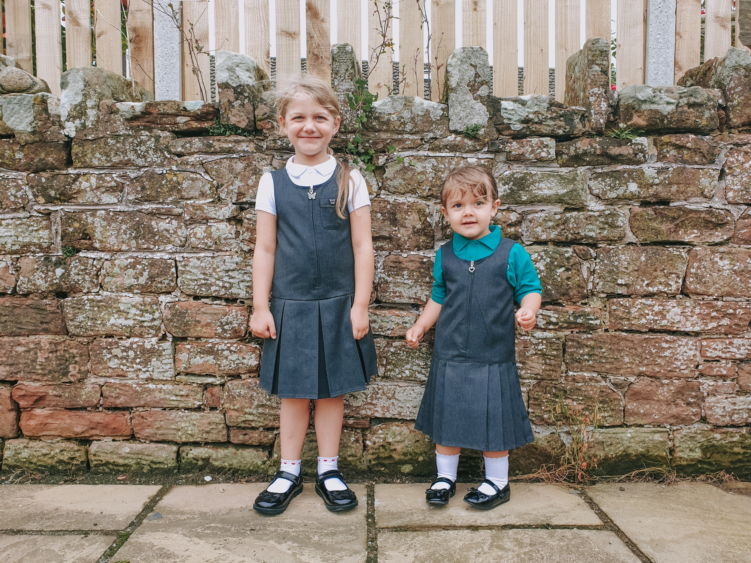 Supermarket school uniform from Sainsbury's TU and George at Asda