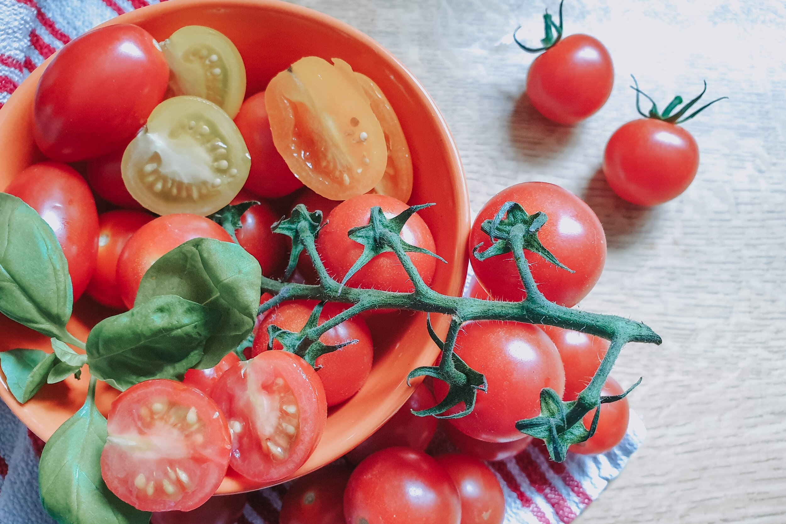 Piccolo tomatoes healthy diet in pregnancy