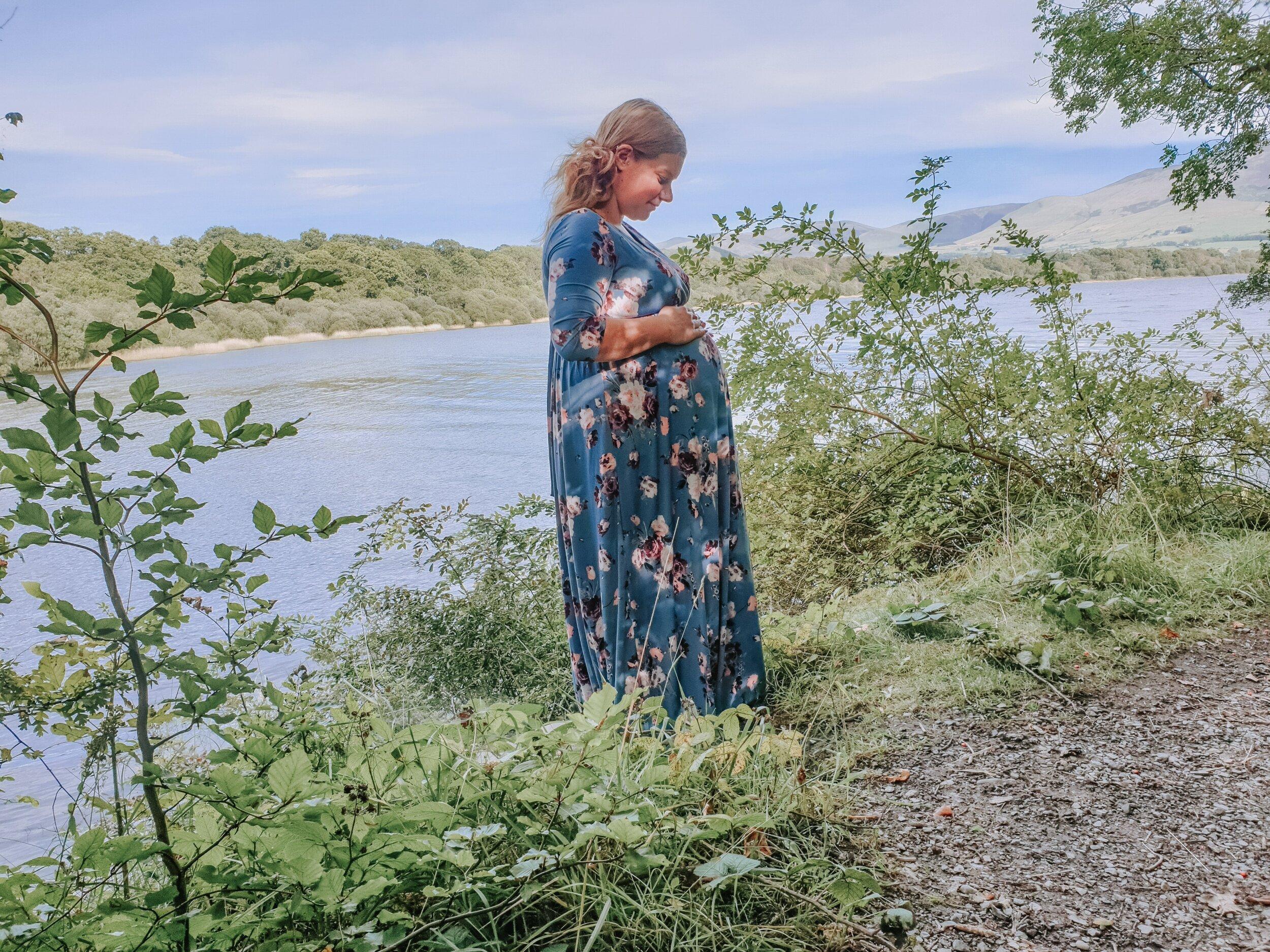 16 weeks pregnant baby bump