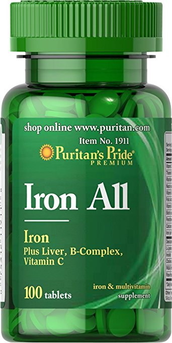 Puritan's Pride Iron All