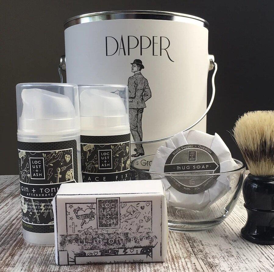 The Dapper Man tin by Nsidethebox
