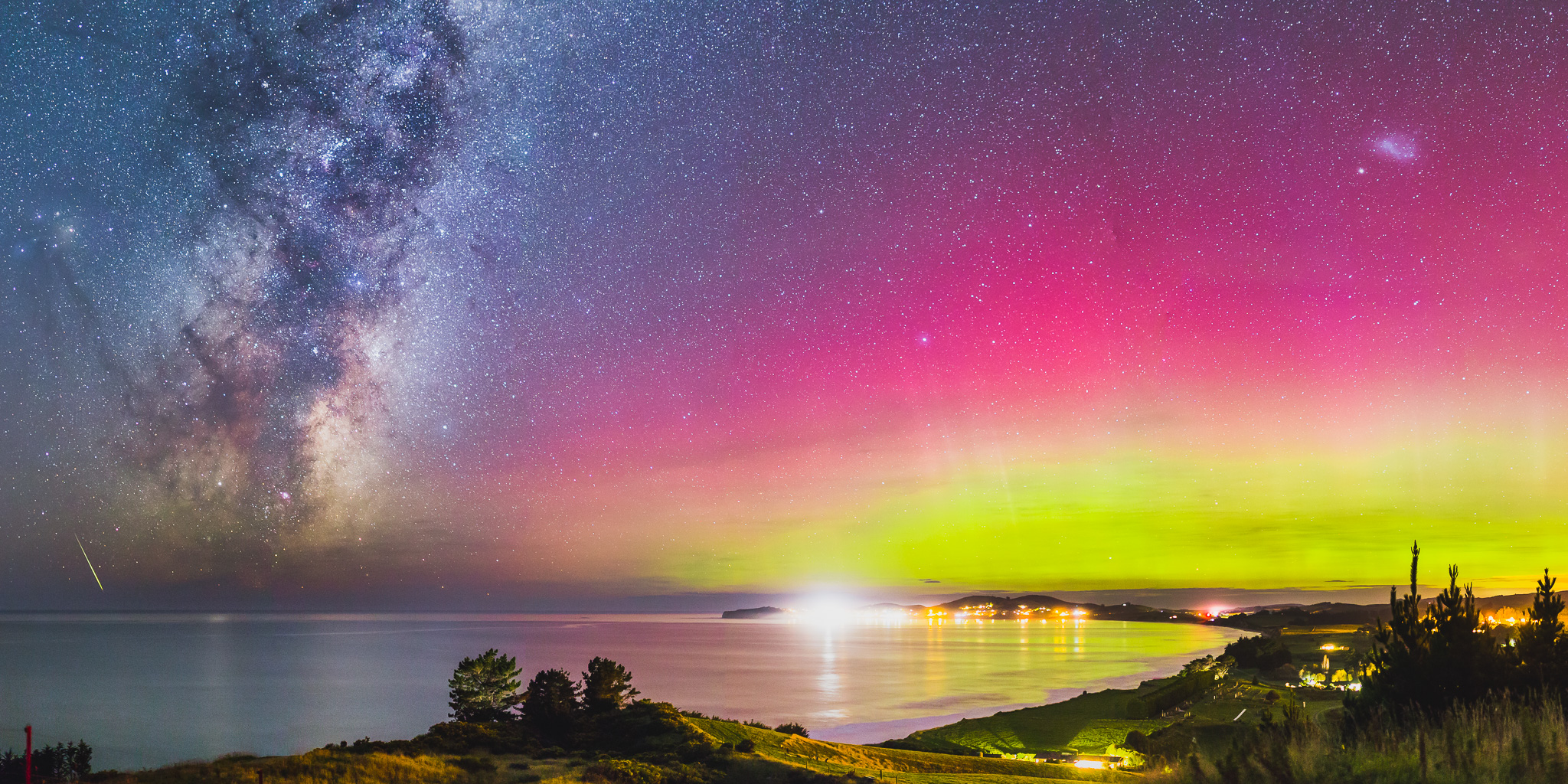 A NIGHT IN NEW ZEALAND