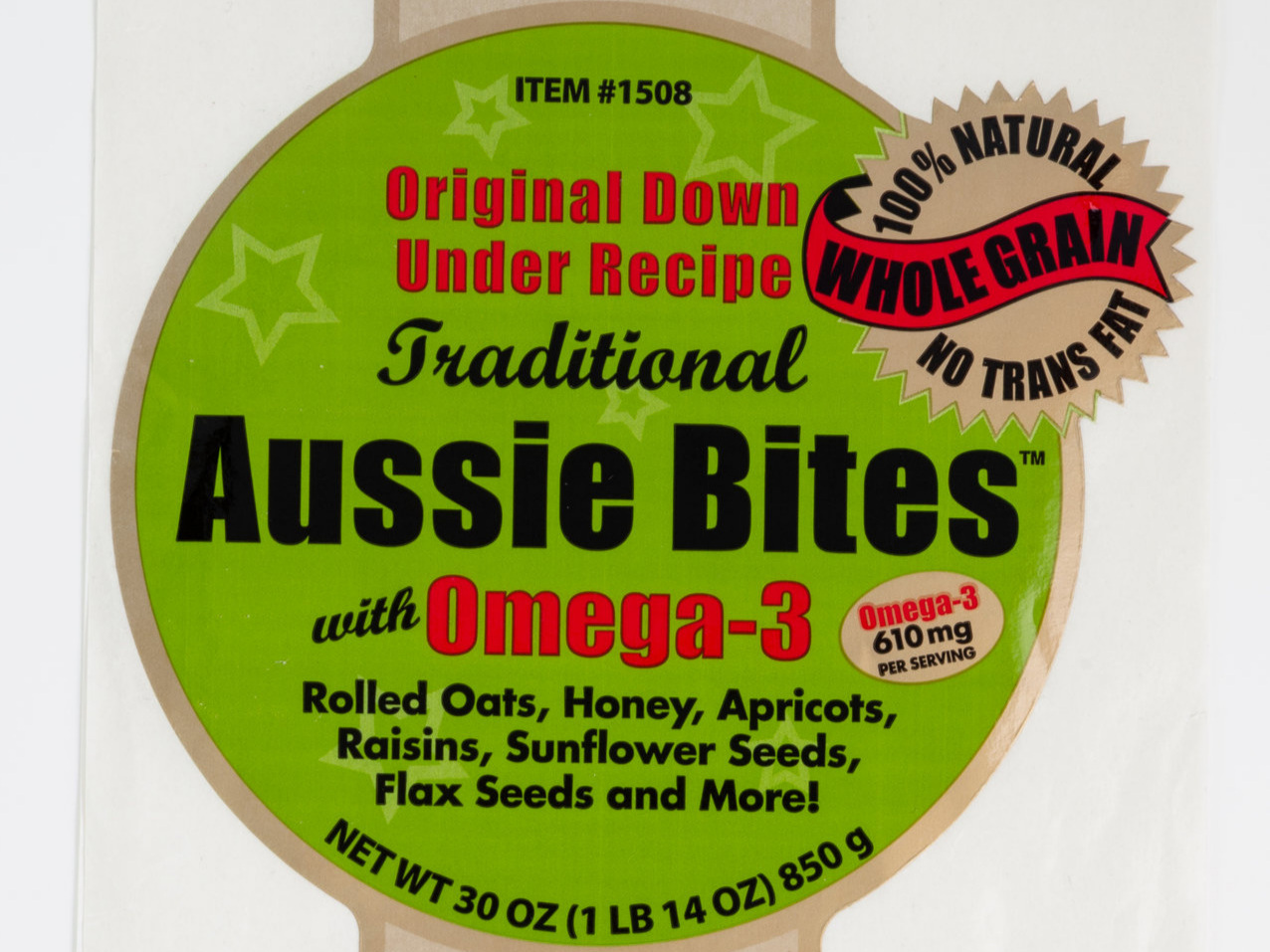 The first Aussie Bites label