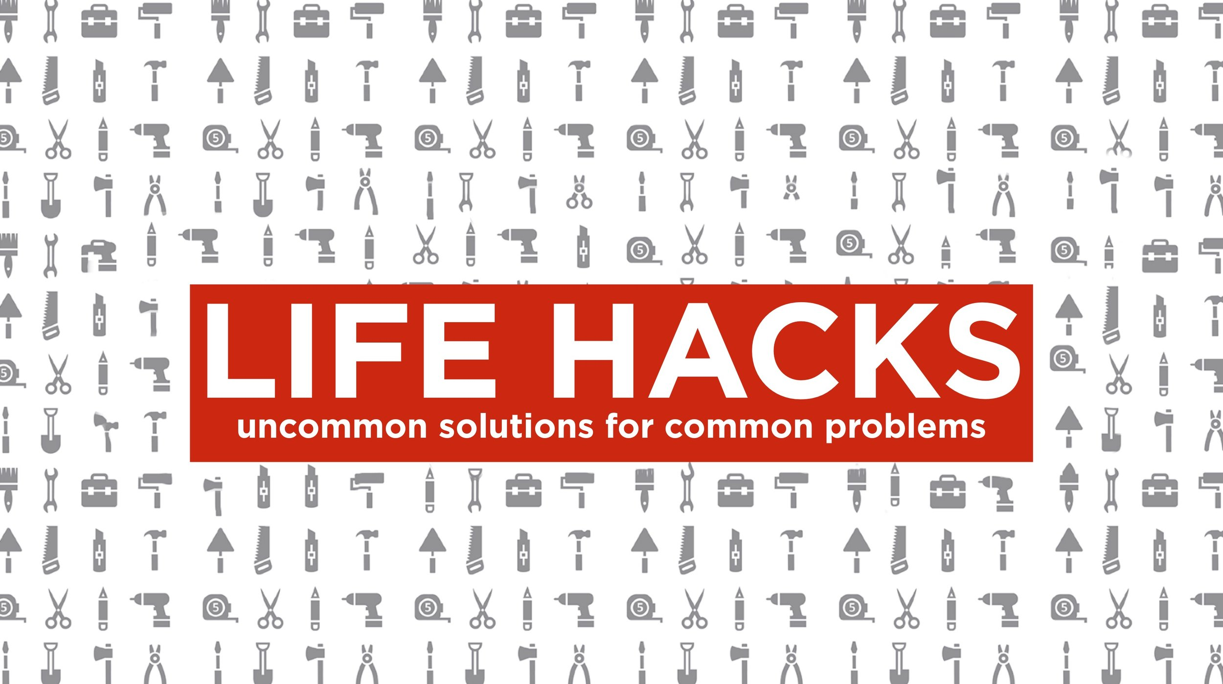 LifeHacks - The Book of Luke contains simple, practical solutions to the problems we all face. In this series we will explore the teachings of Jesus to find those solutions to our common problems.