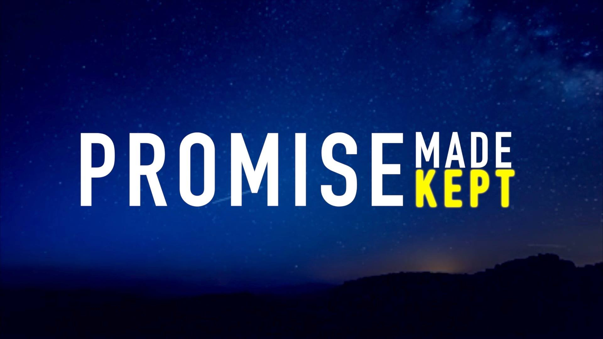 Promise Made-Kept - A series study through the book of Genesis. Click HERE to watch the messages from this series!