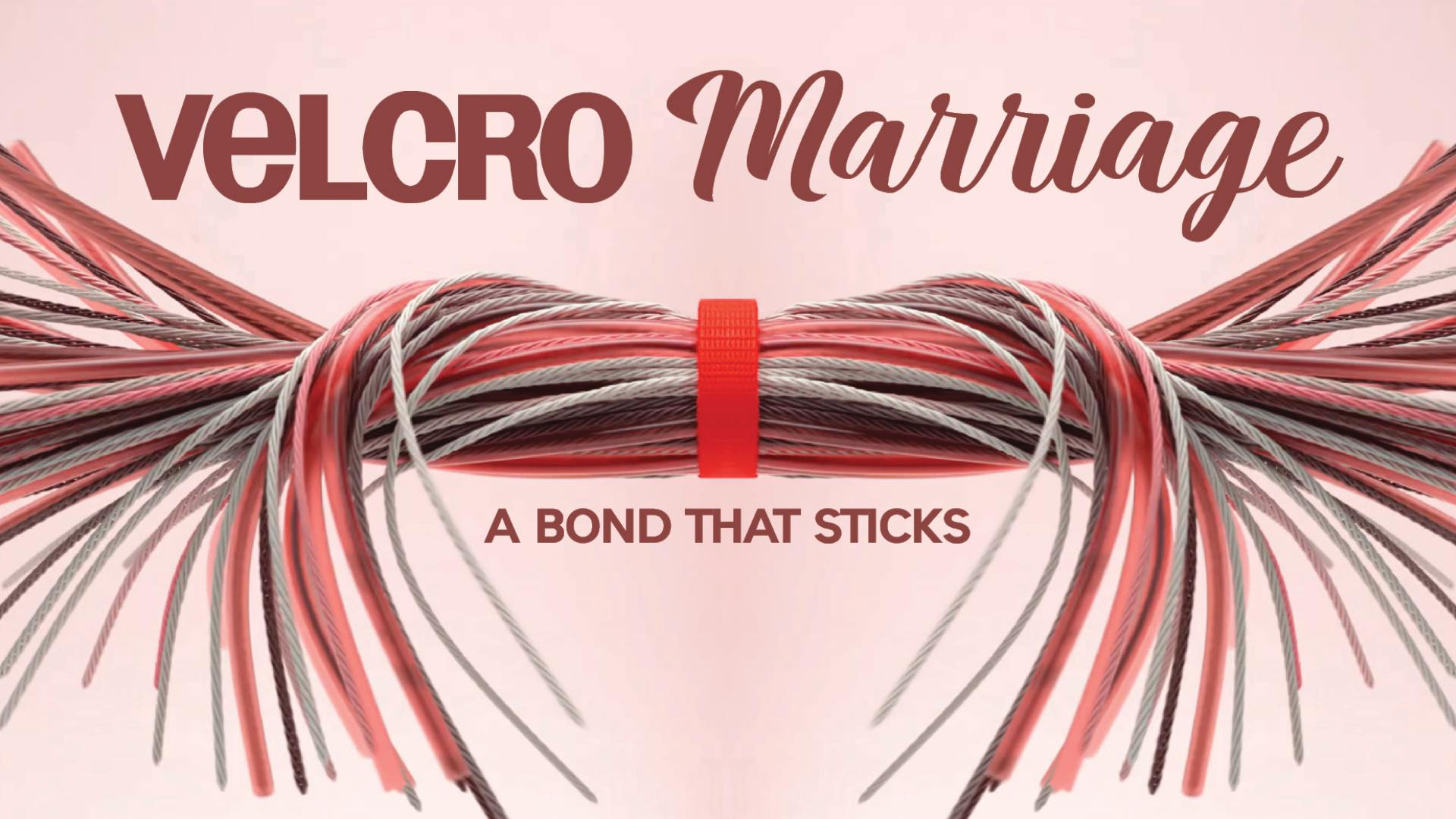 Velcro Marriage - A series that touches on relationships and marriage. How to create a bond that sticks.