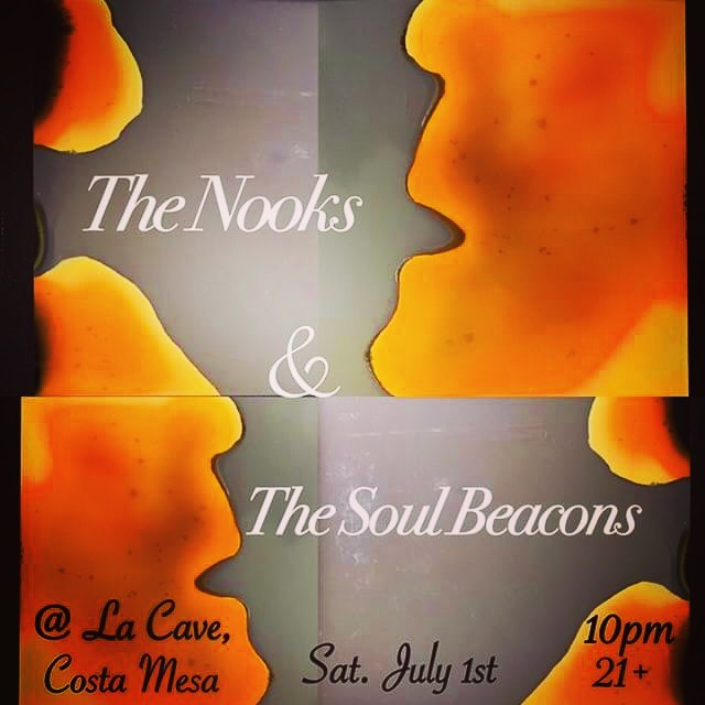 This Saturday The Soul Beacons will deliver the funk to legendary Underground cocktail lounge  La Cave, come dressed to kill because our jams will be shakin, not stirred🕶 #funk #soul #danceparty #hammondorgan #vinylrecords #thenooksband #thesoulbeacons