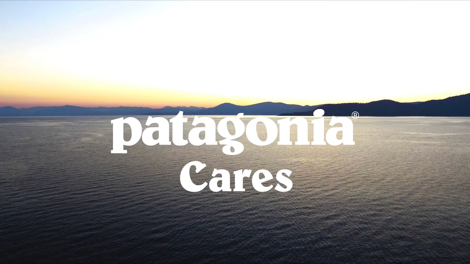 """Patagonia Cares Spec Commercial"" (2018)"