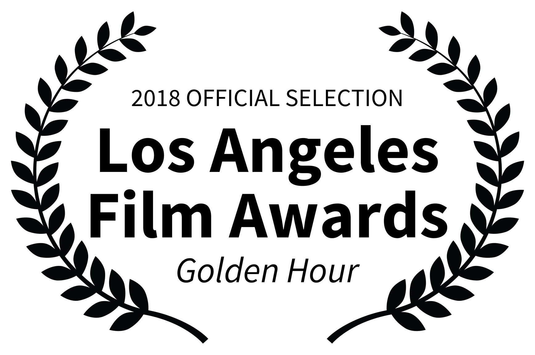 2018 OFFICIAL SELECTION - Los Angeles Film Awards - Golden Hour.png