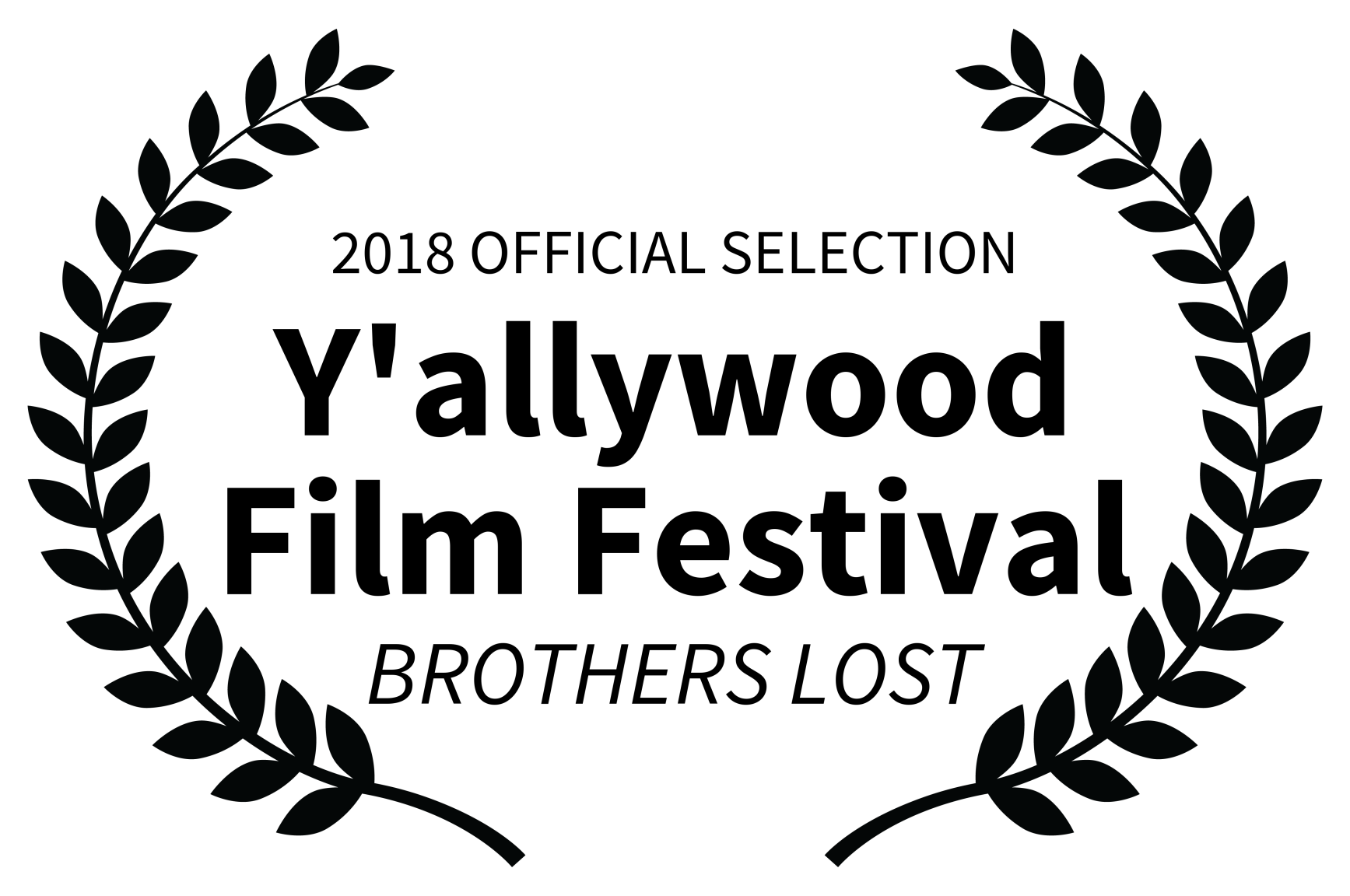2018 OFFICIAL SELECTION - Yallywood Film Festival - BROTHERS LOST.png