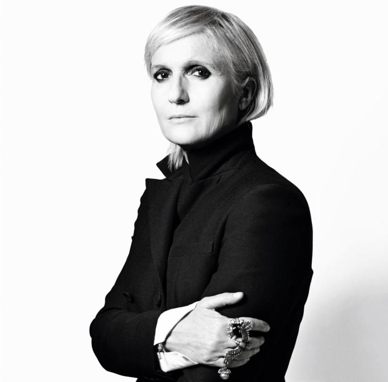 Maria Grazia Chiuri - Directrice artistique chez Christian Dior, succédant à Raf Simons