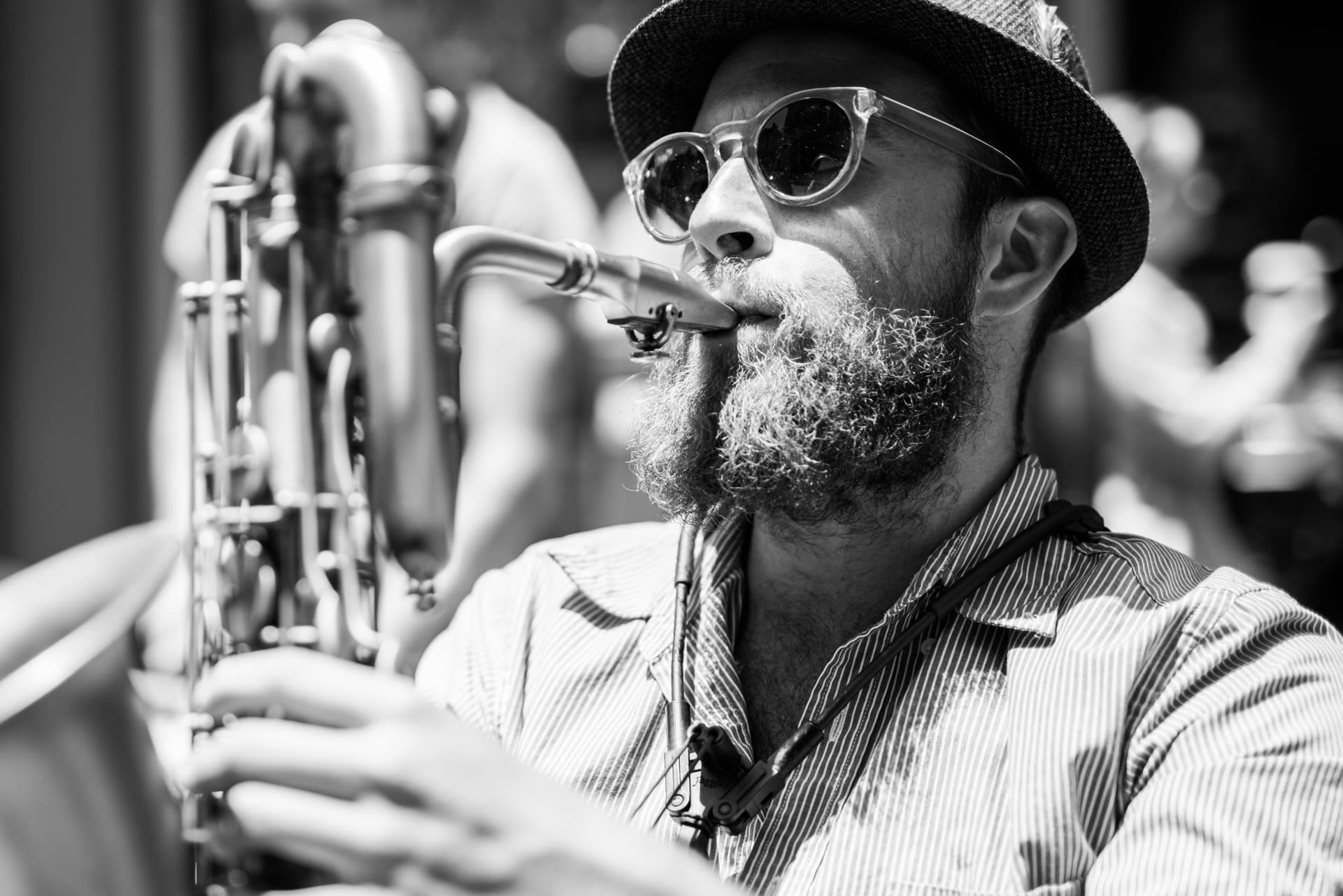 "Jazz Musician Matt ""Slyfox"" Thomas"